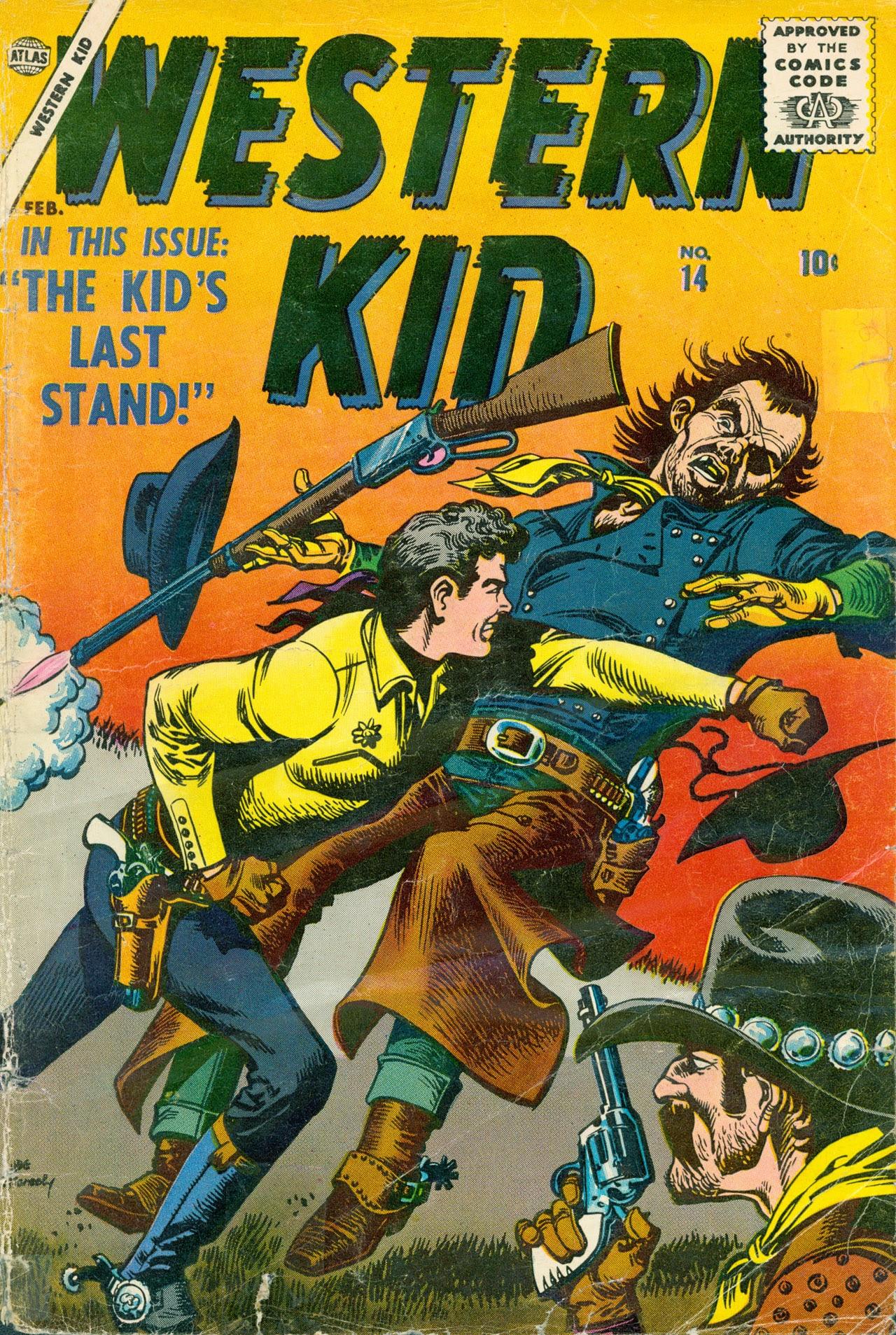 Western Kid 14 Page 1