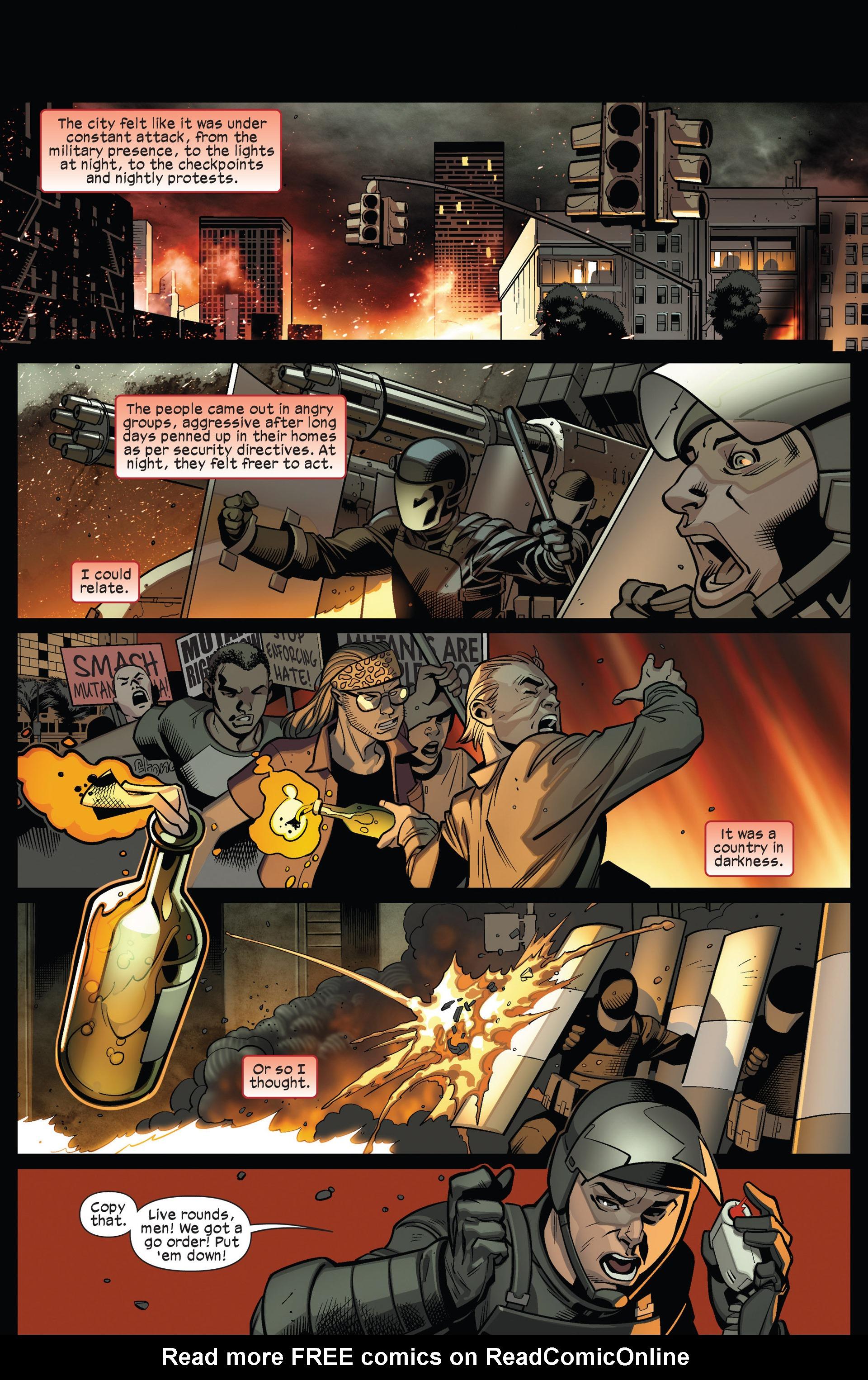Read online Ultimate Comics X-Men comic -  Issue #13 - 9