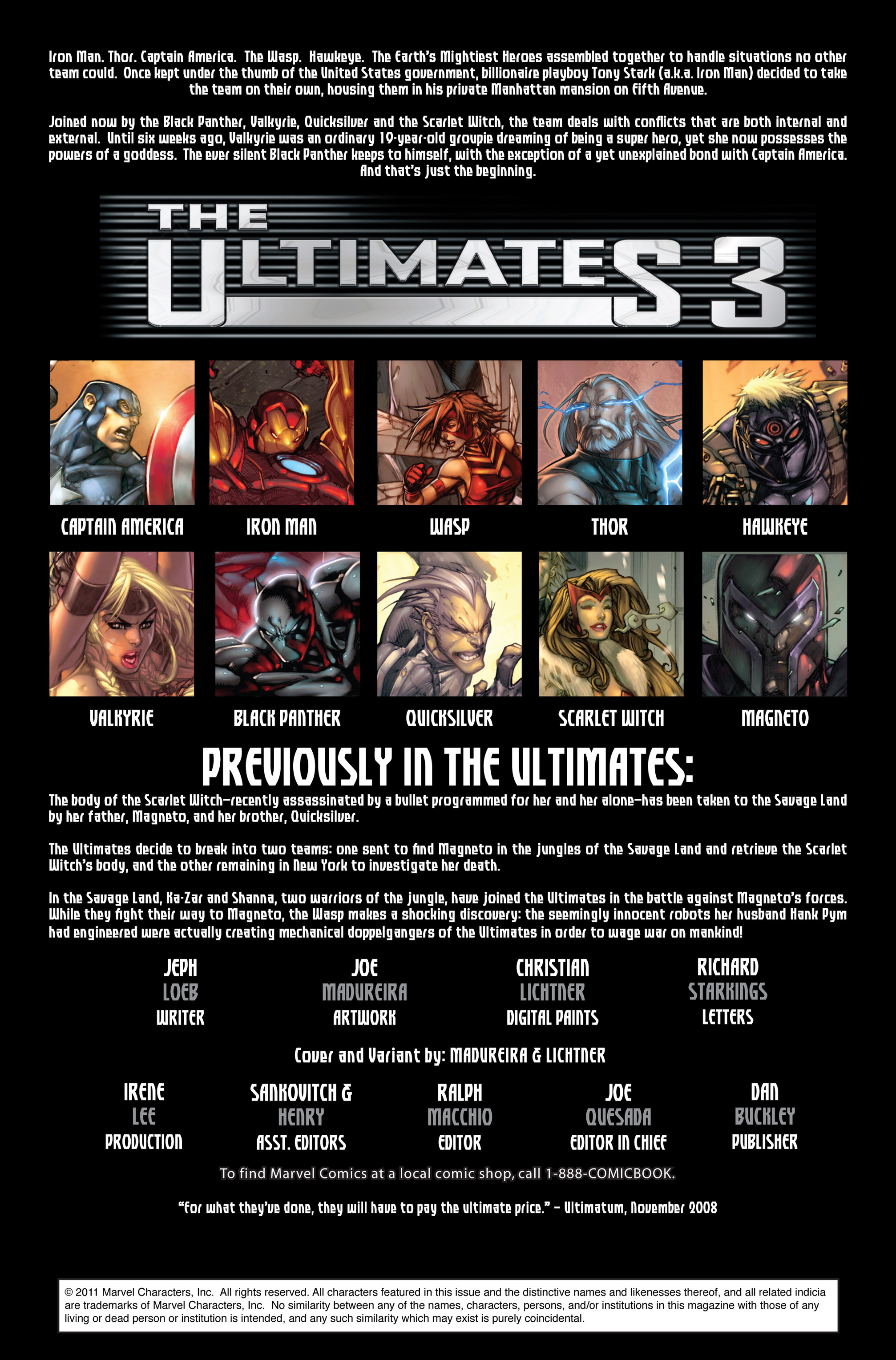 Read online Ultimates 3 comic -  Issue #5 - 3