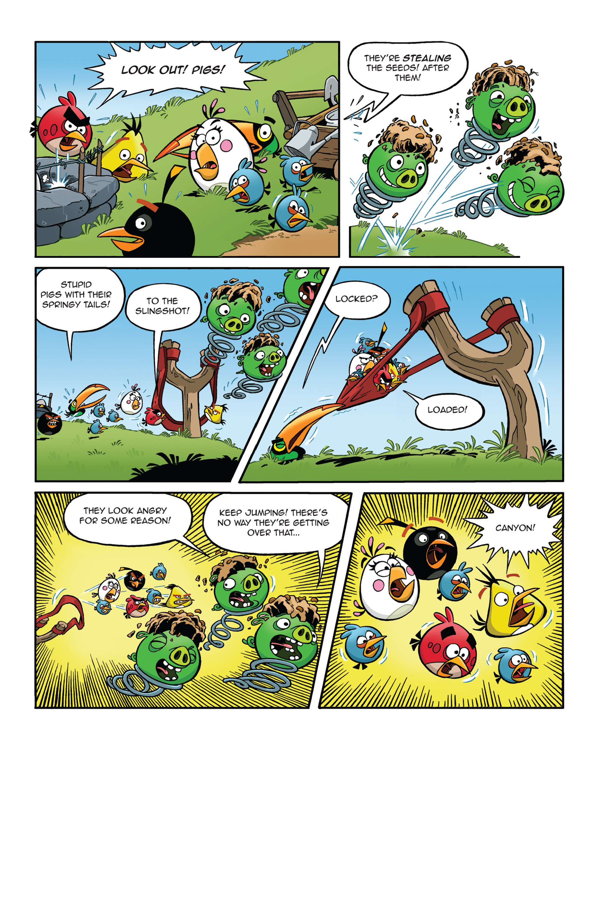 Read online Angry Birds Comics (2014) comic -  Issue #5 - 9