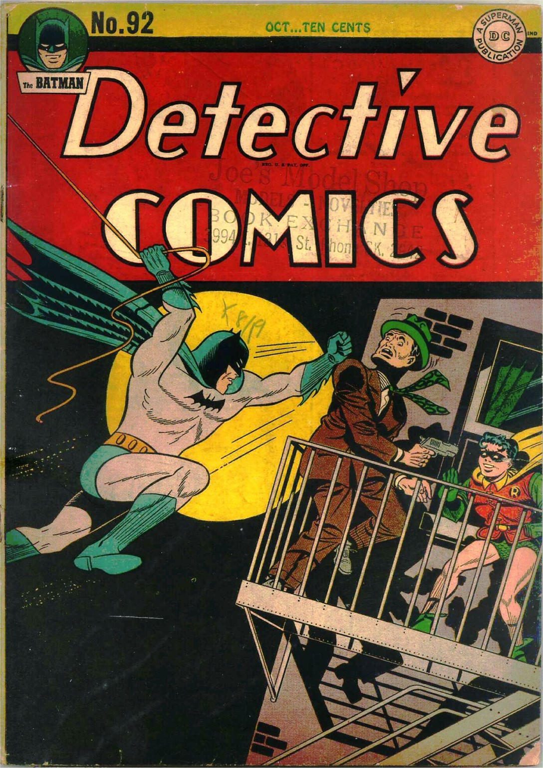 Read online Detective Comics (1937) comic -  Issue #92 - 1