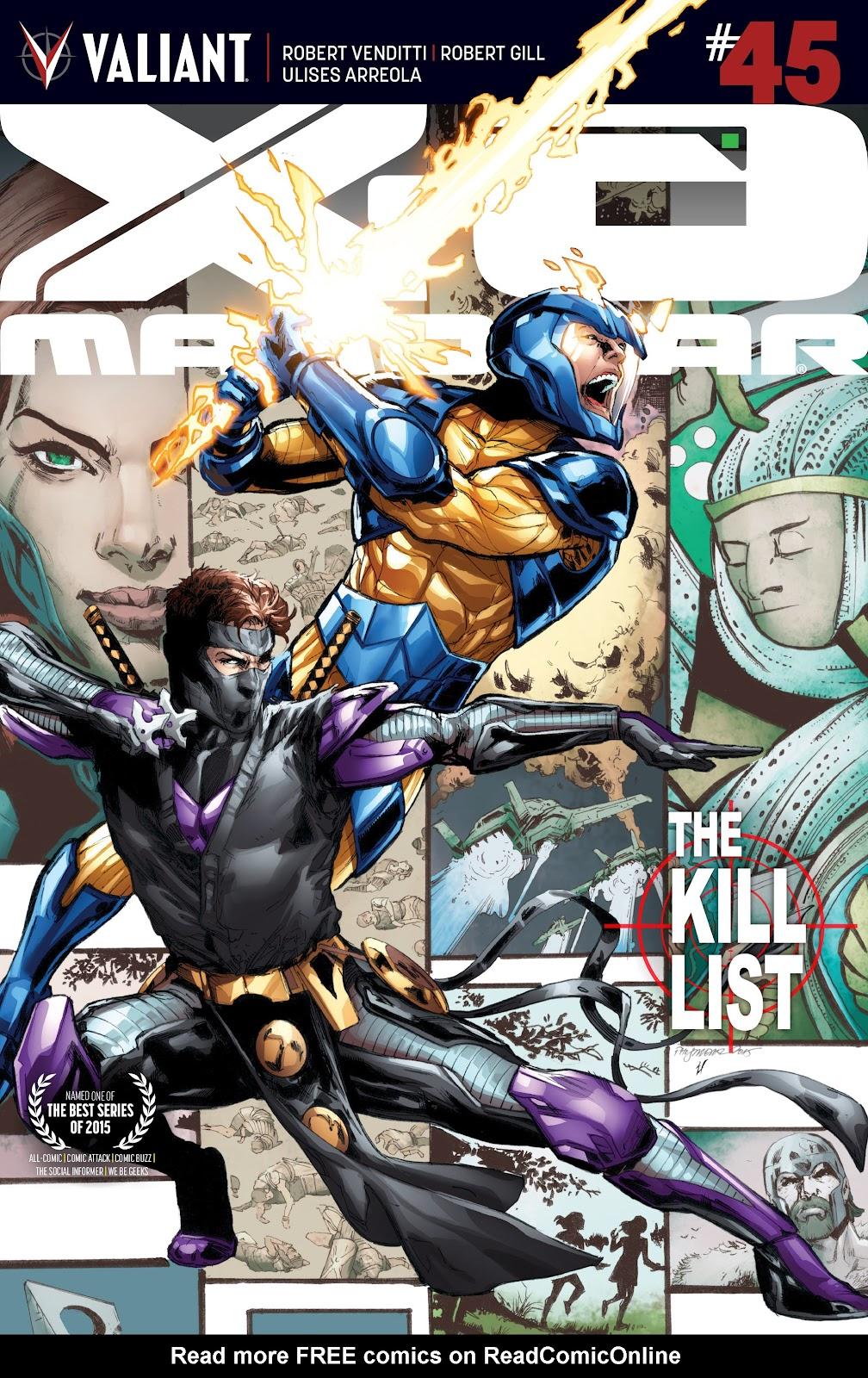 X-O Manowar (2012) 45 Page 1