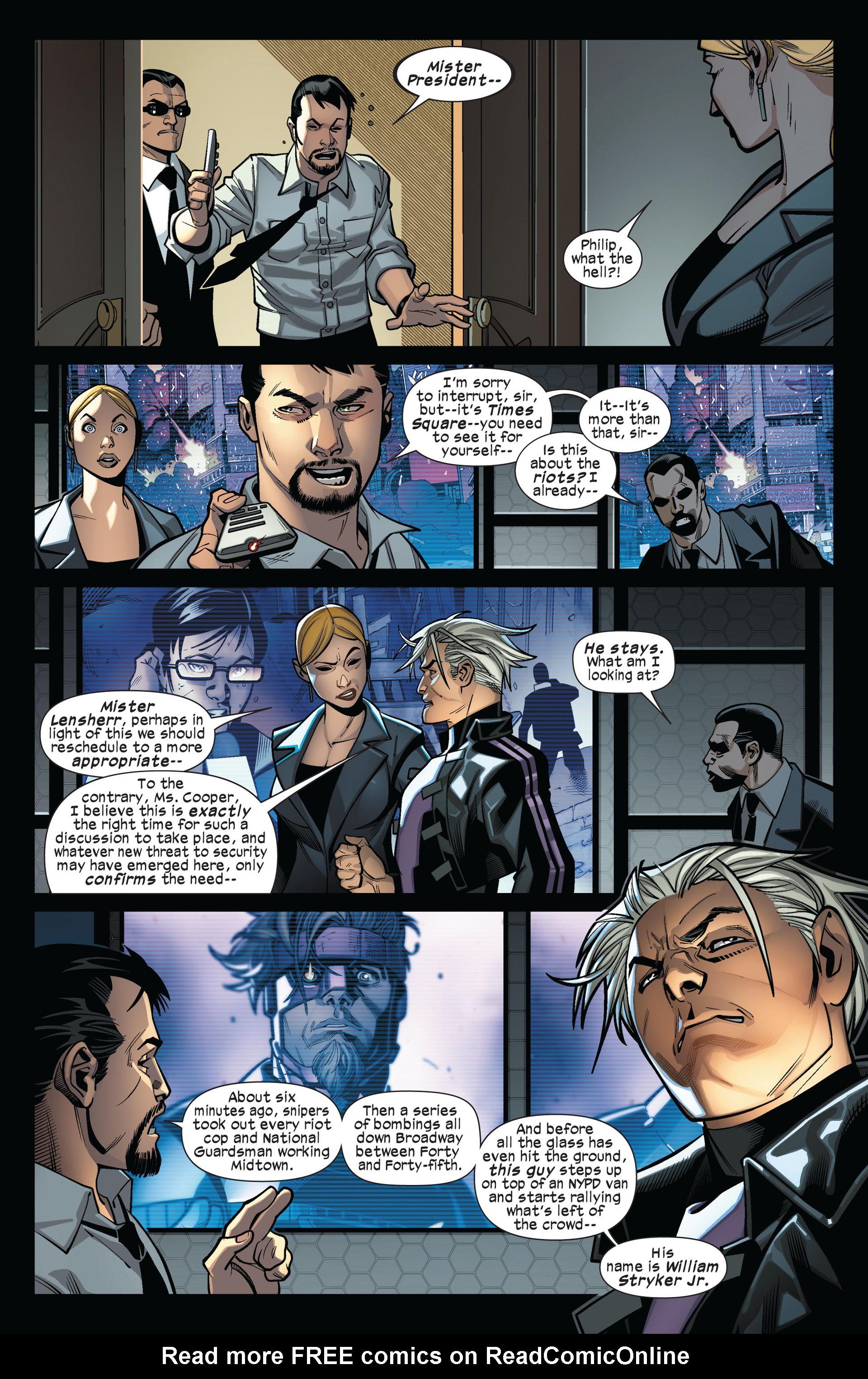 Read online Ultimate Comics X-Men comic -  Issue #4 - 12