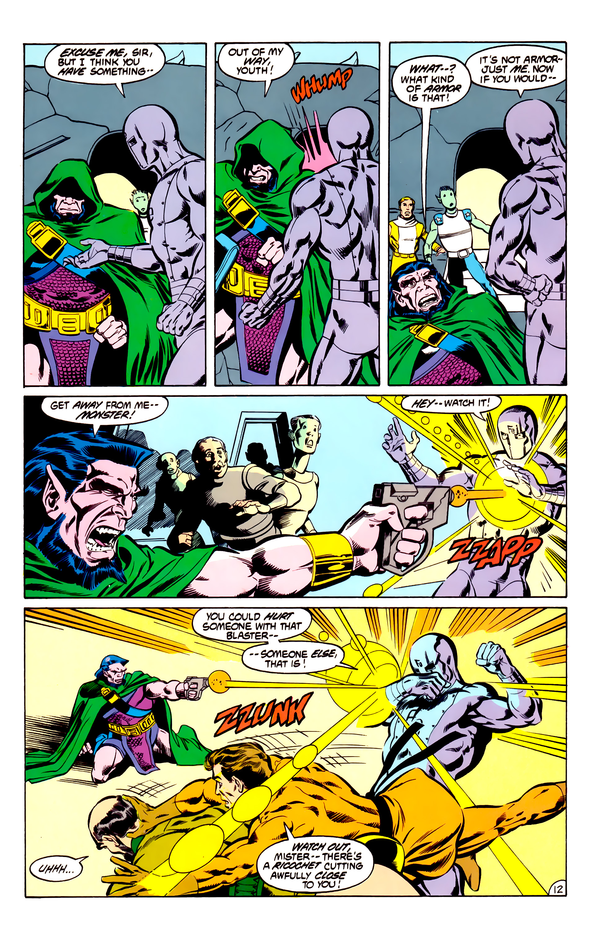 Legion of Super-Heroes (1984) 31 Page 12