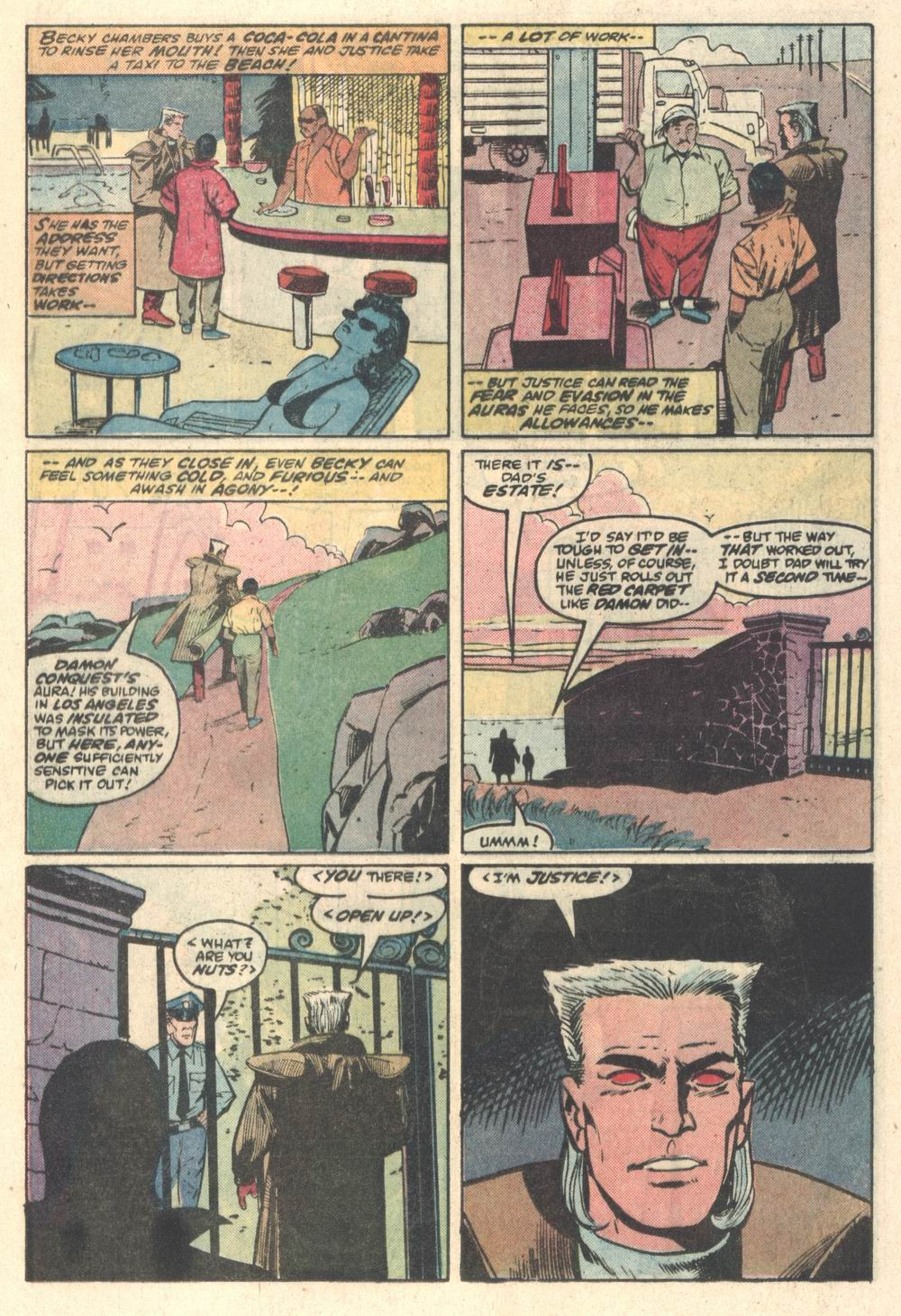 Read online Justice (1986) comic -  Issue #5 - 12