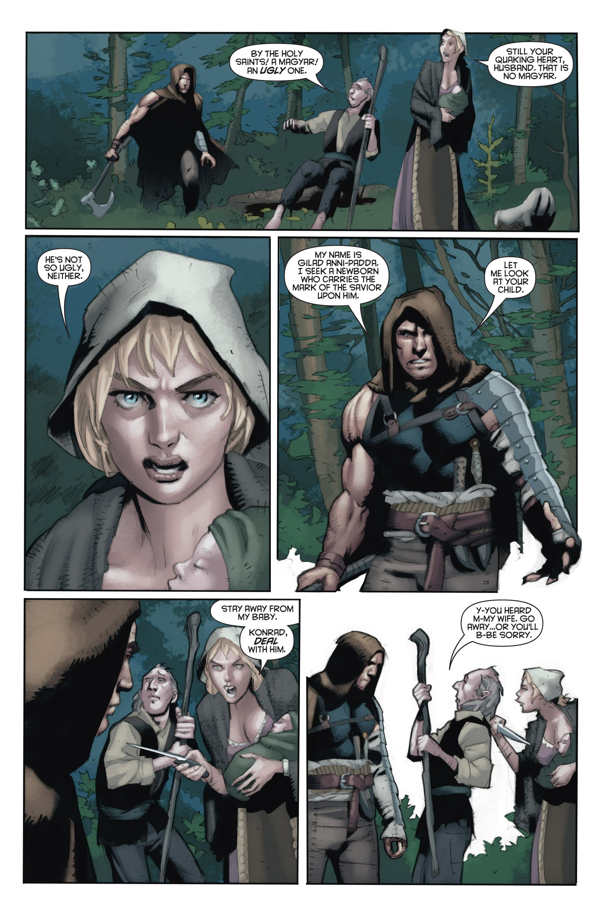 Read online Eternal Warrior: Days of Steel comic -  Issue #1 - 19
