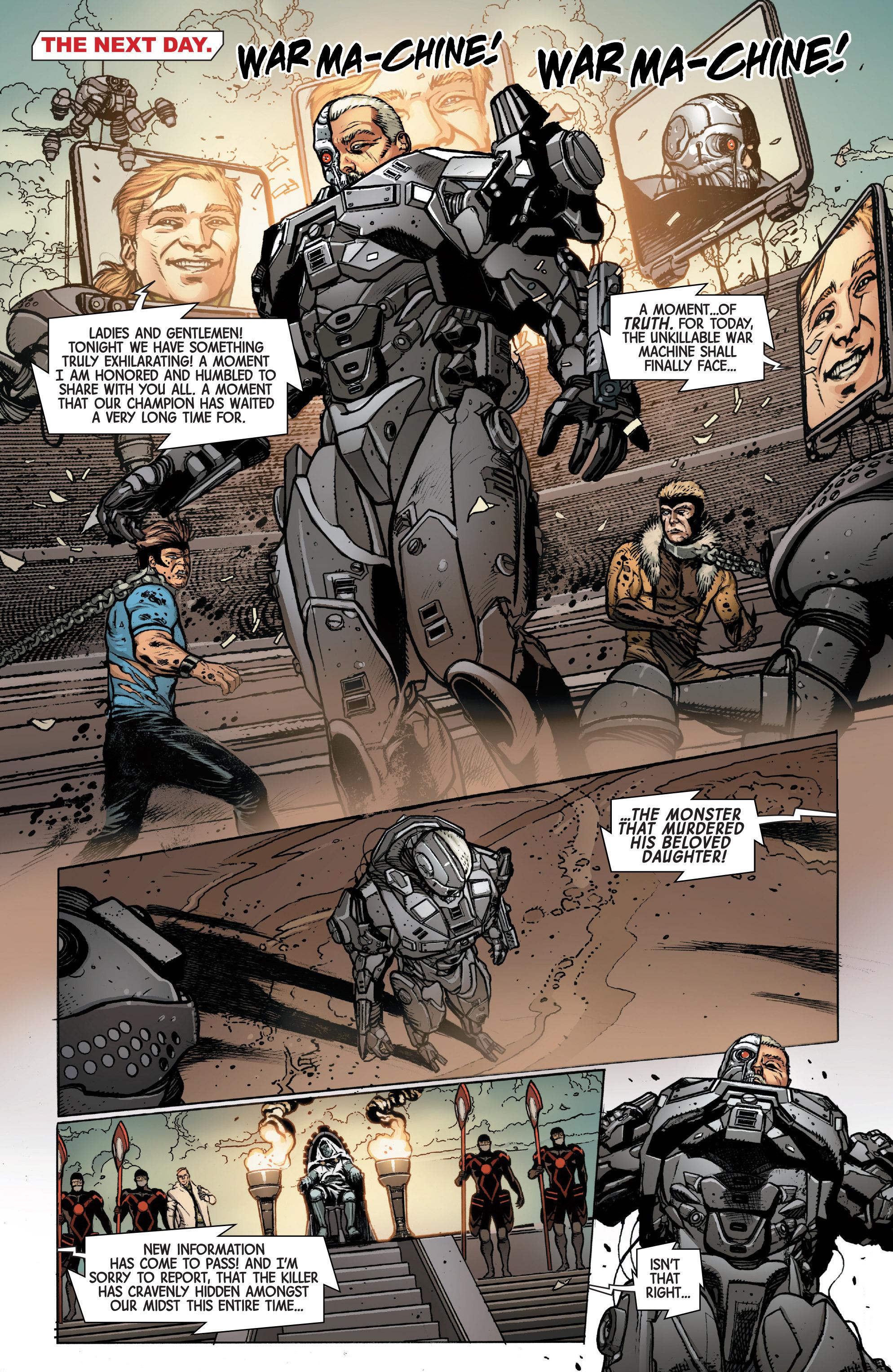 Read online Secret Wars Journal/Battleworld comic -  Issue # TPB - 159