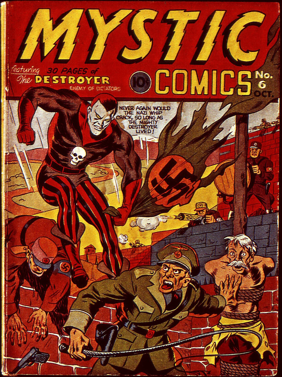 Mystic Comics (1940) issue 6 - Page 2