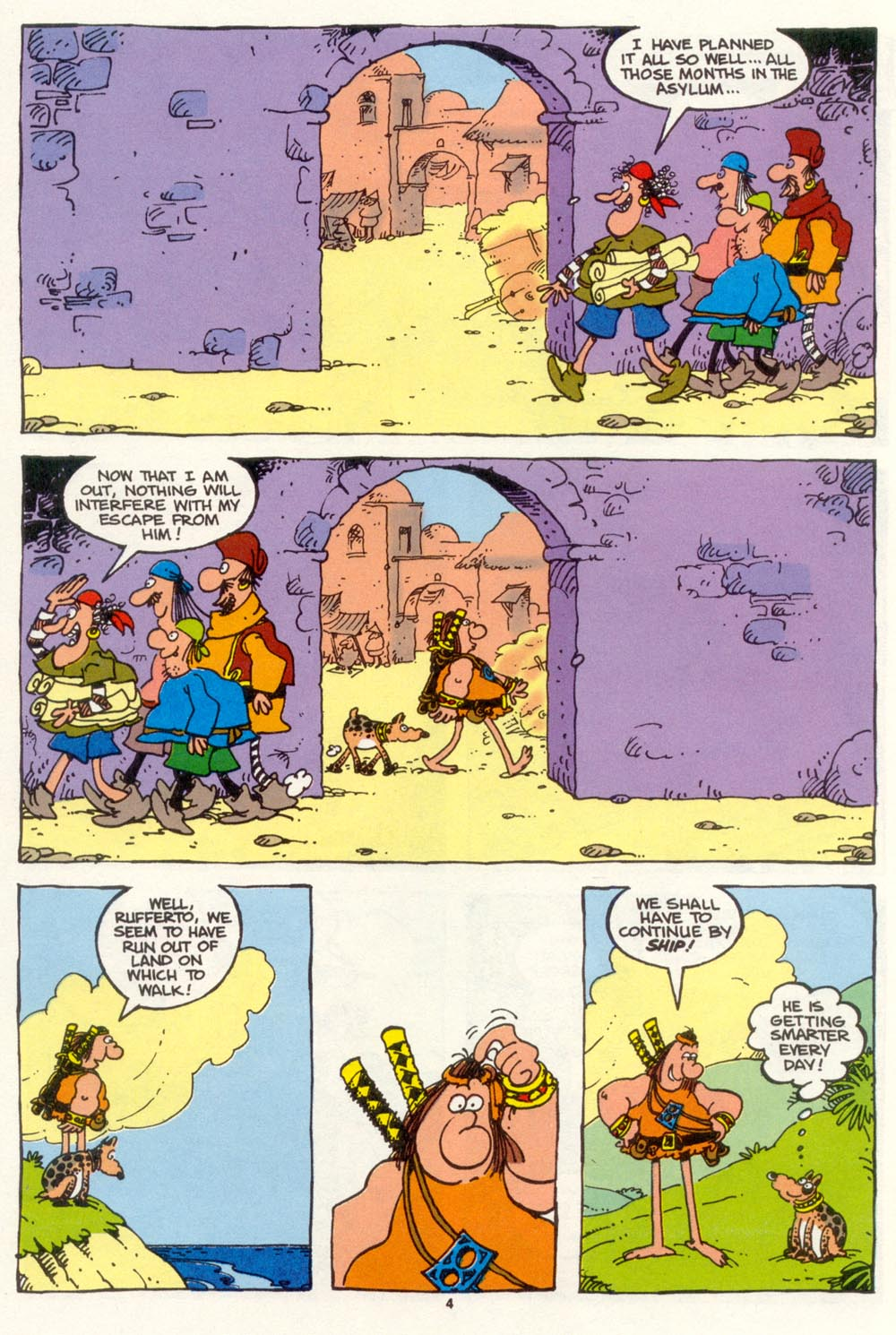 Read online Sergio Aragonés Groo the Wanderer comic -  Issue #101 - 6