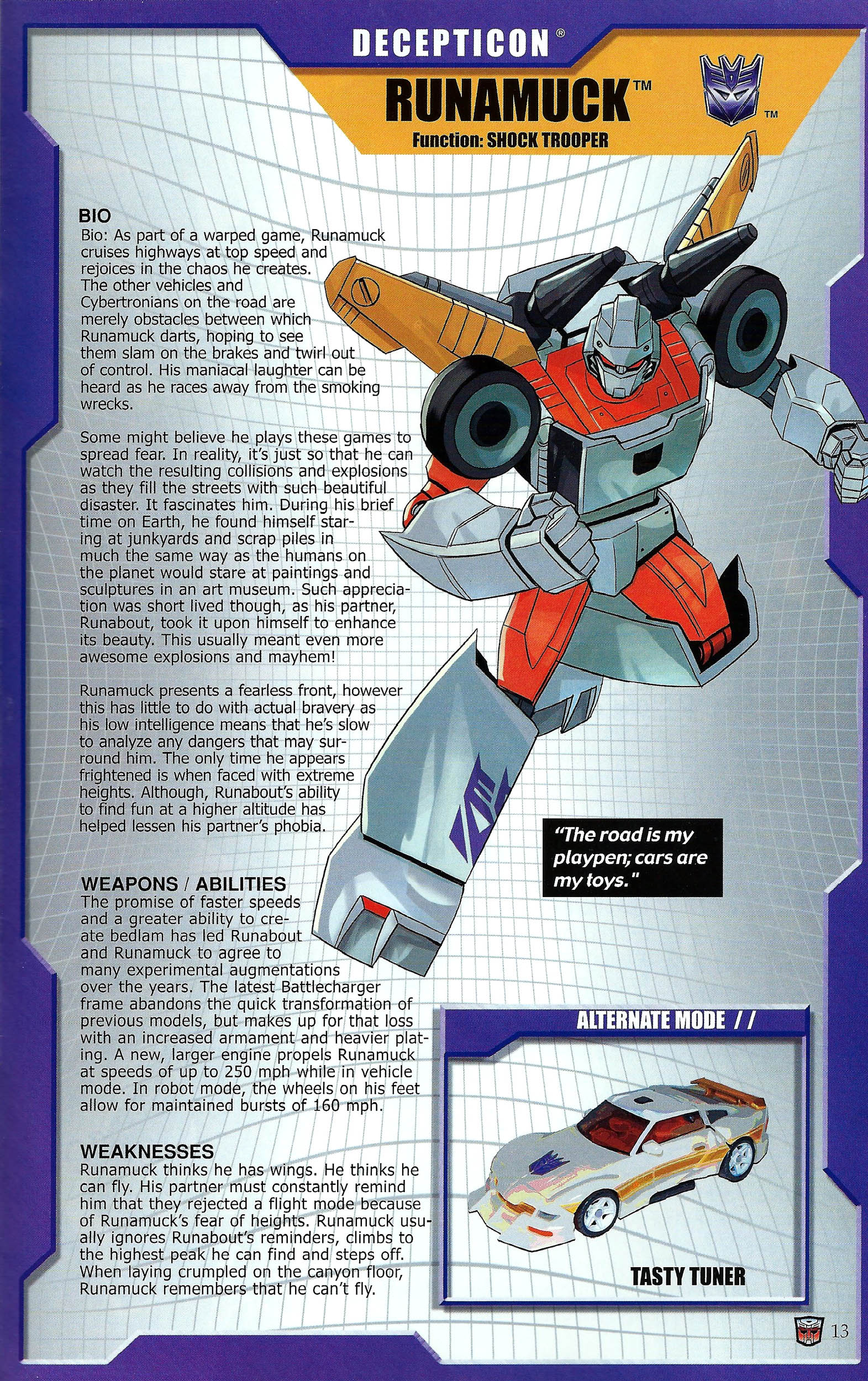 Read online Transformers: Collectors' Club comic -  Issue #43 - 13