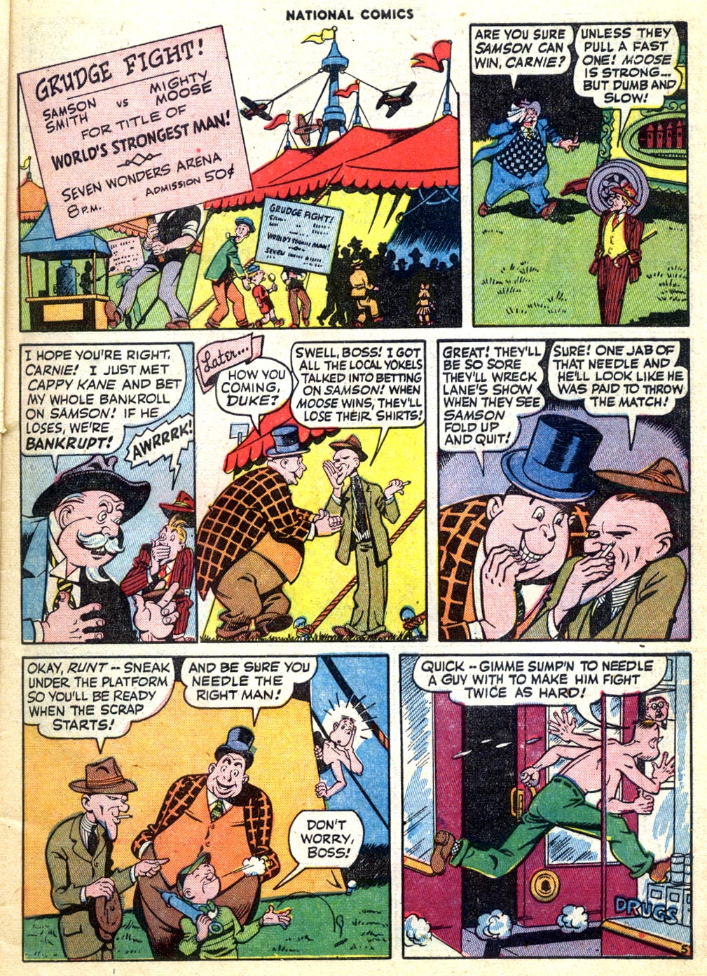 National Comics (1940) issue 47 - Page 7