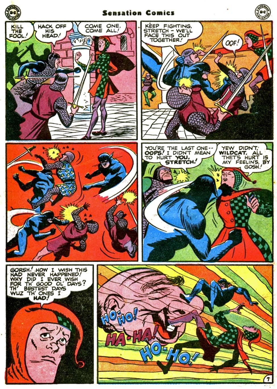Read online Sensation (Mystery) Comics comic -  Issue #64 - 48