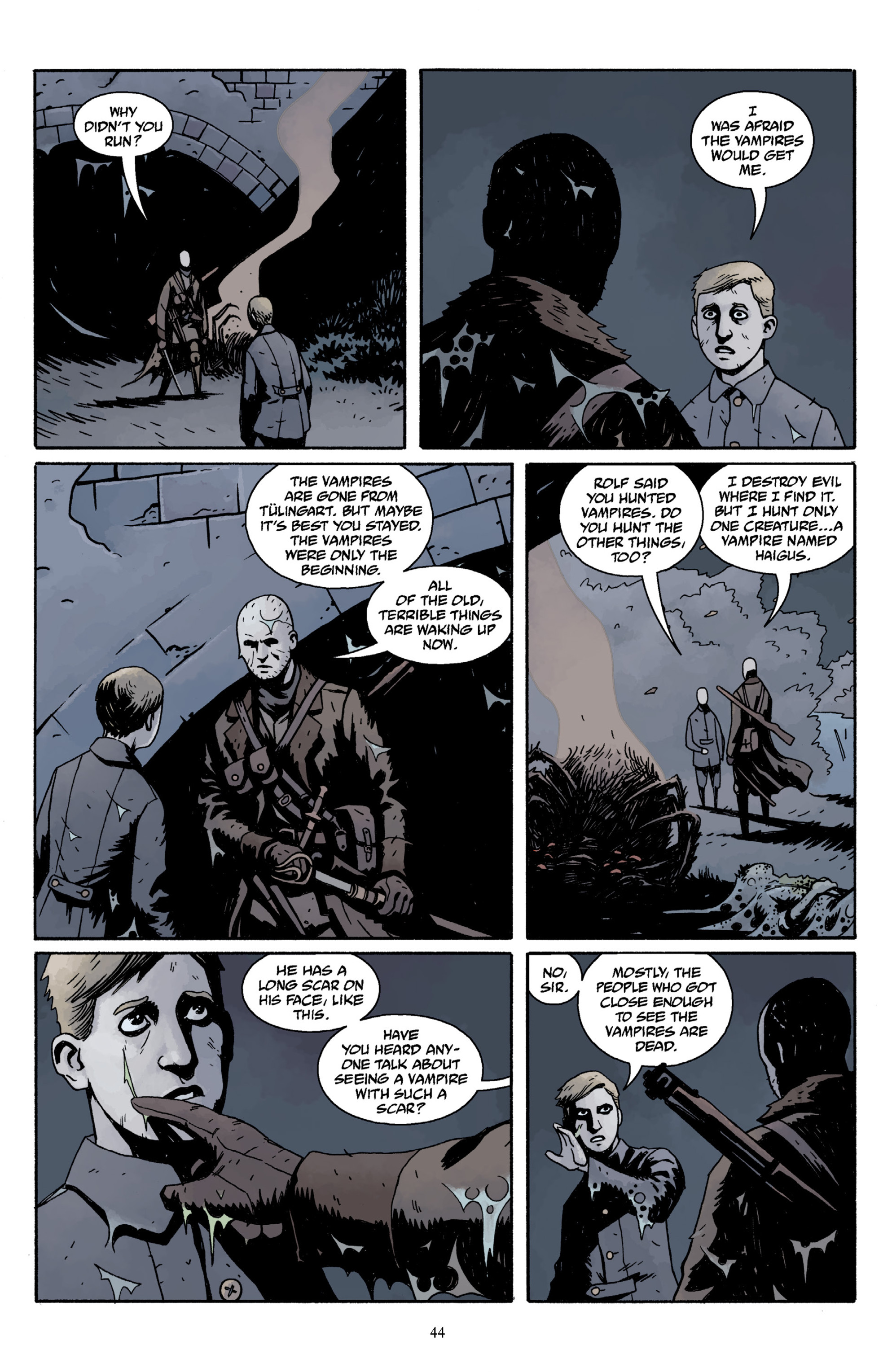Read online Baltimore Volume 3: A Passing Stranger and Other Stories comic -  Issue # Full - 46