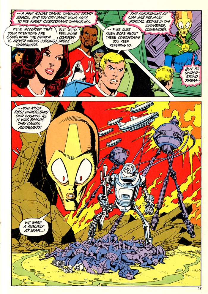 Read online Atari Force (1982) comic -  Issue #5 - 19