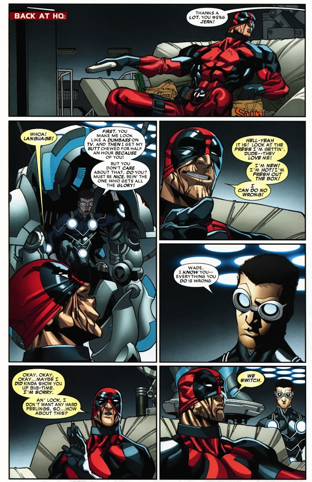 Read online Deadpool (2008) comic -  Issue #24 - 8