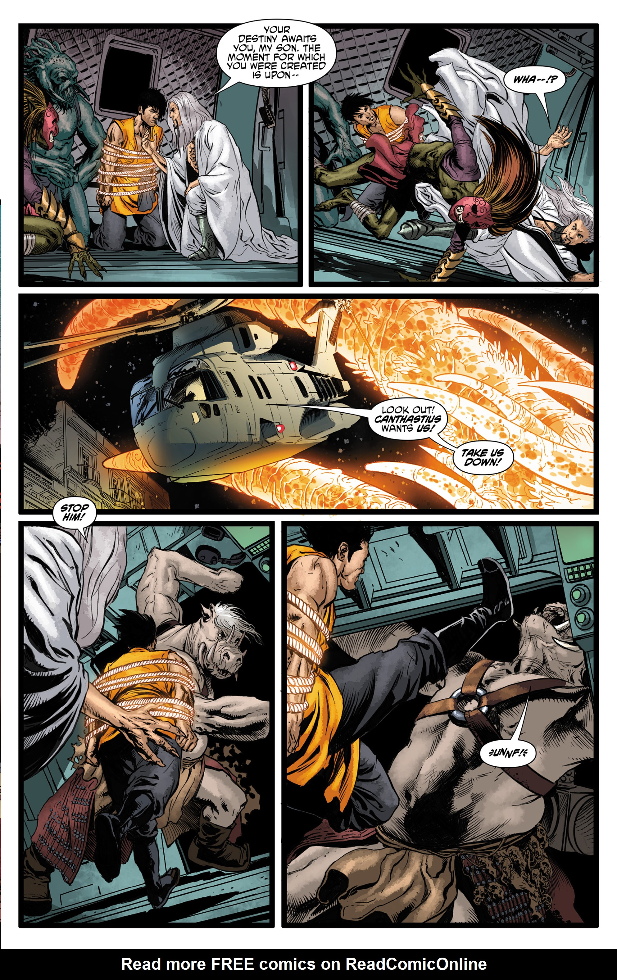 Read online King Tiger comic -  Issue #3 - 5