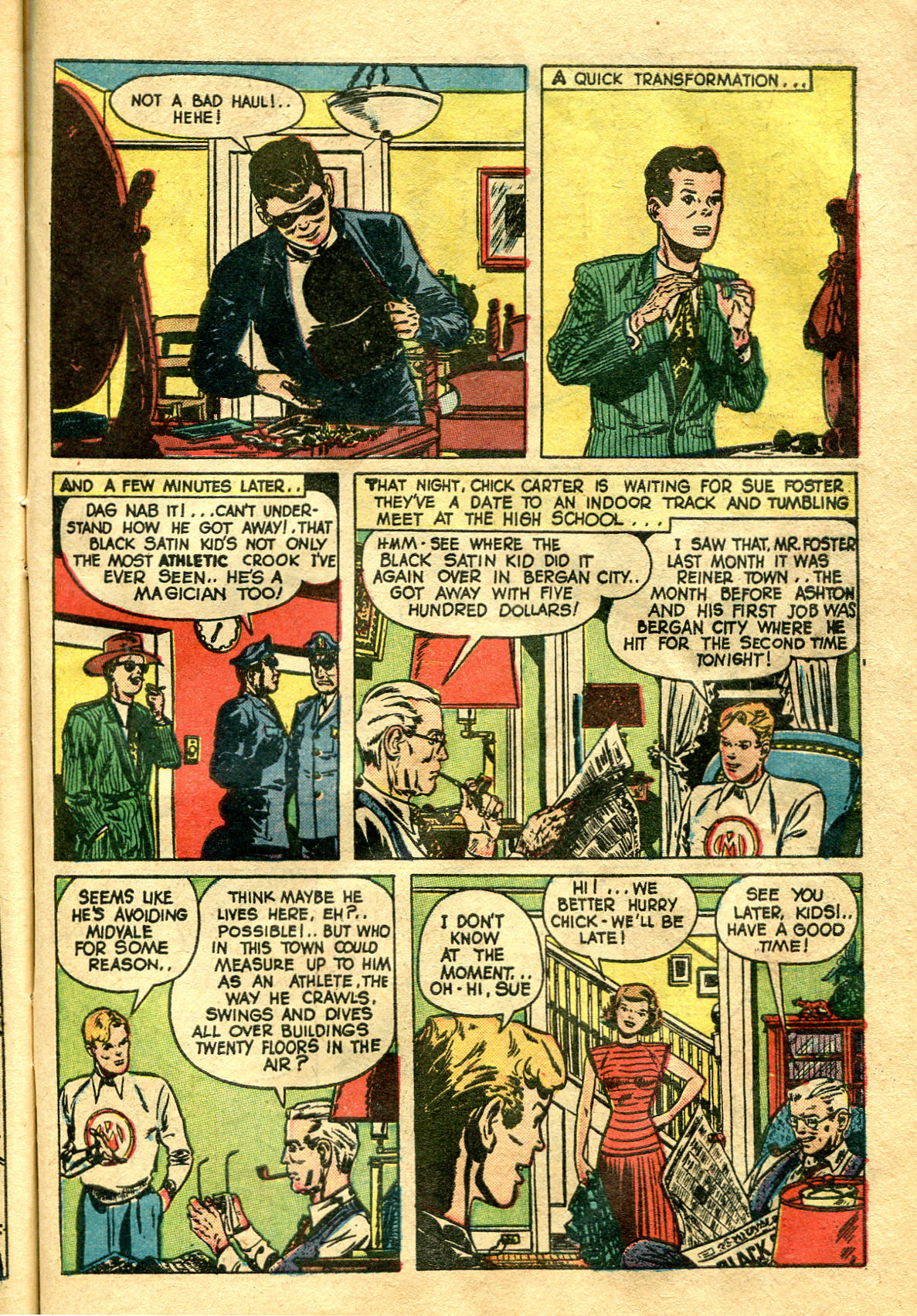Read online Shadow Comics comic -  Issue #99 - 41
