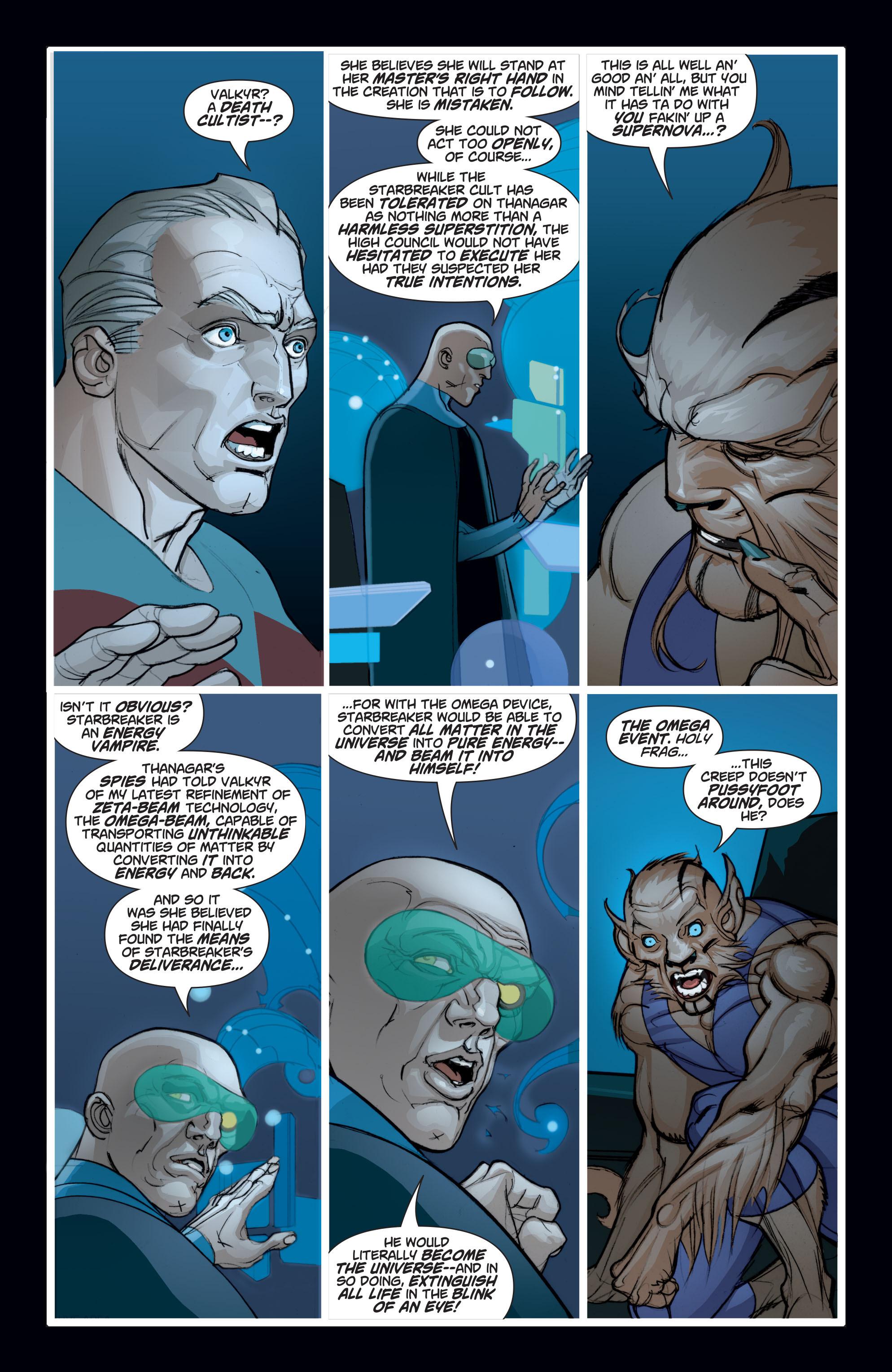 Read online Adam Strange (2004) comic -  Issue #7 - 8