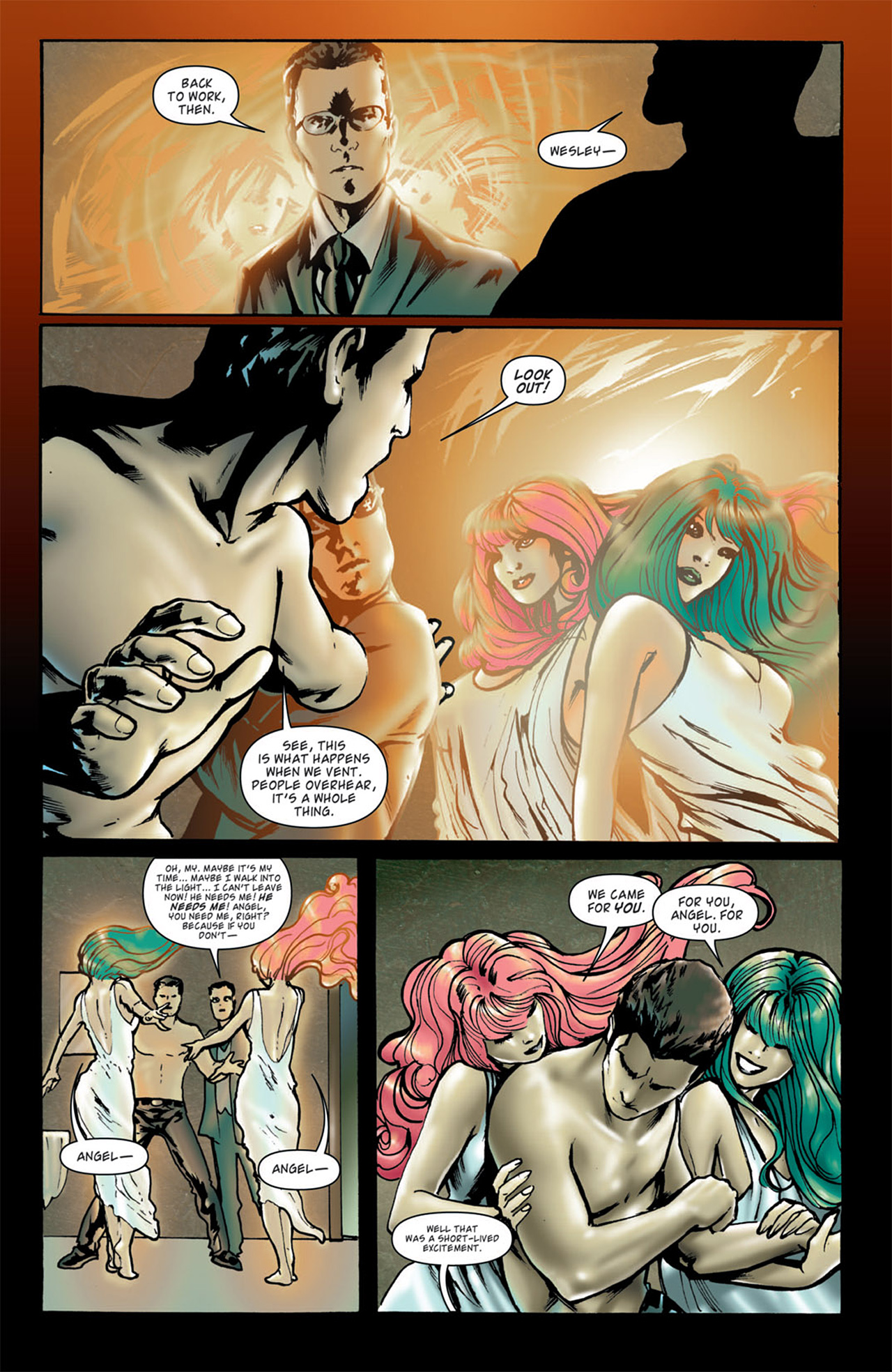 Read online Angel: After The Fall comic -  Issue #4 - 11