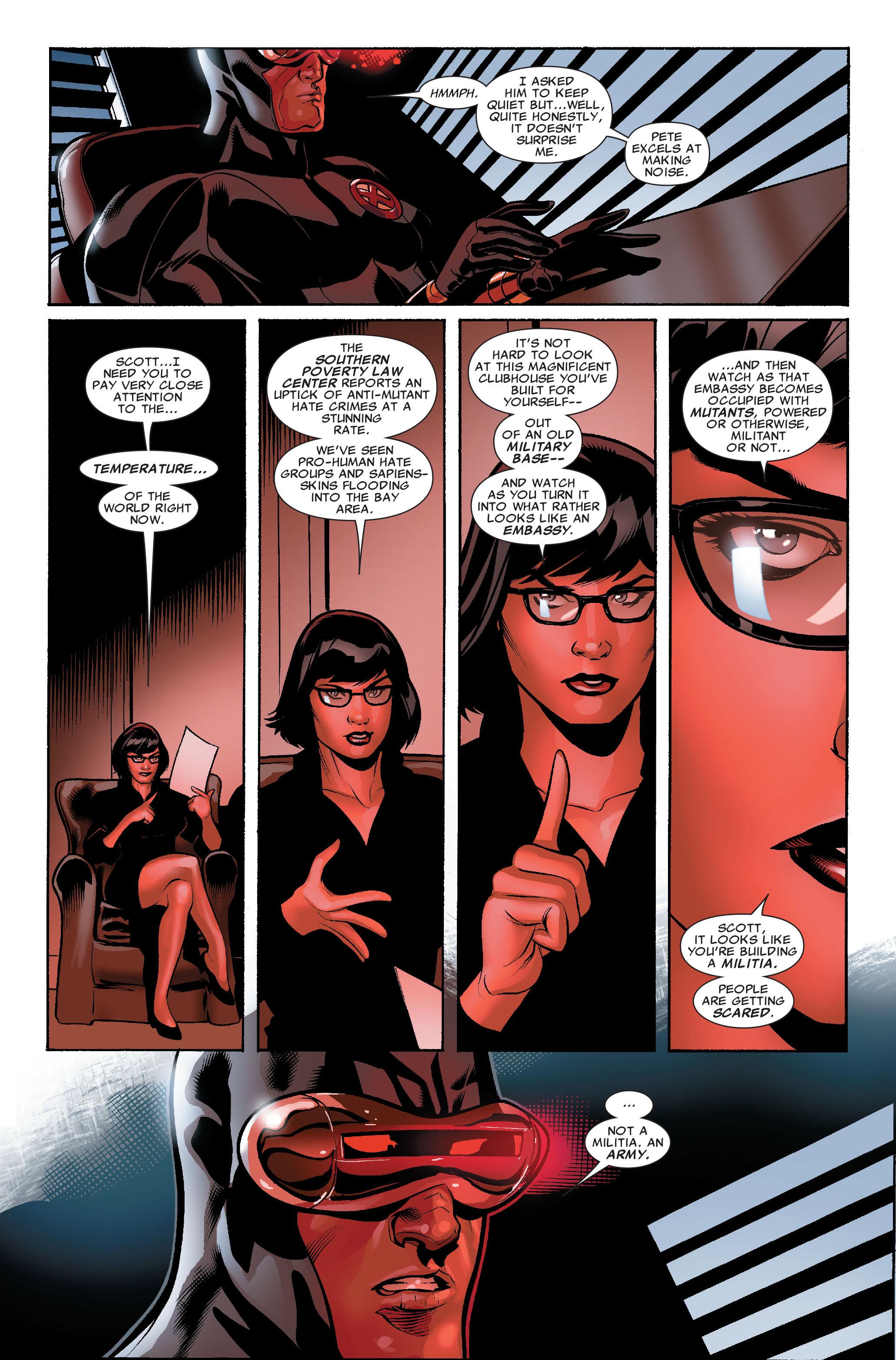 Read online Uncanny X-Men (1963) comic -  Issue #507 - 21