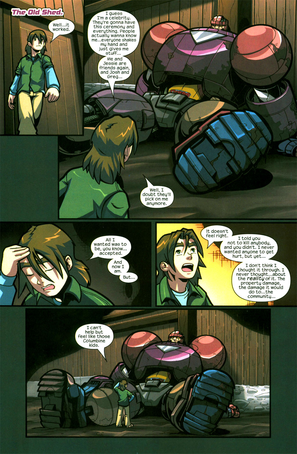 Read online Sentinel comic -  Issue #6 - 21