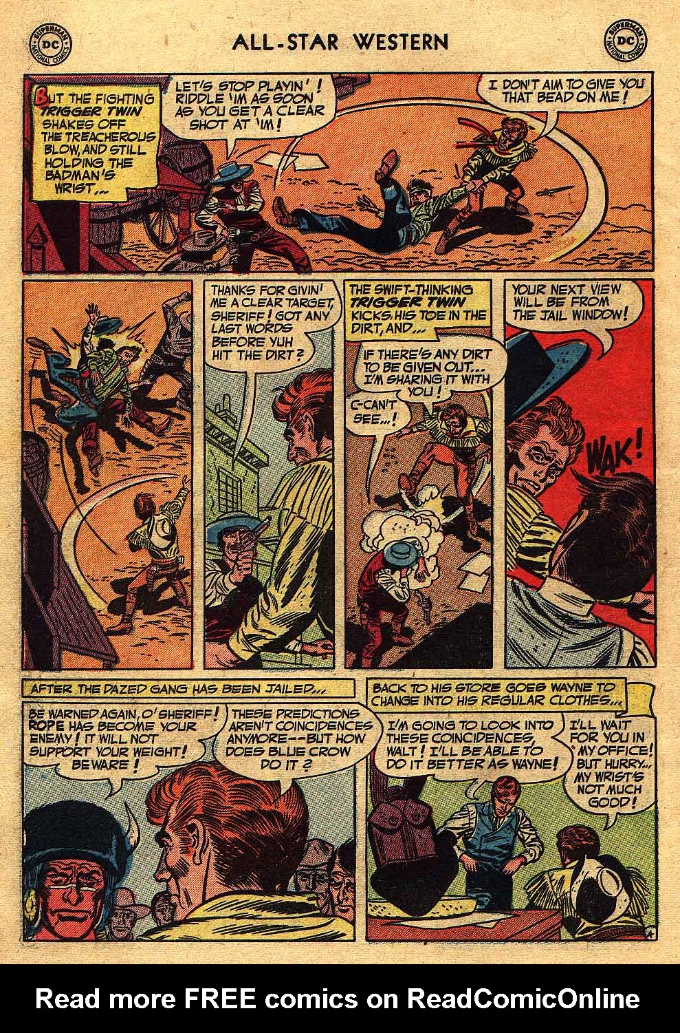 Read online All-Star Western (1951) comic -  Issue #70 - 6