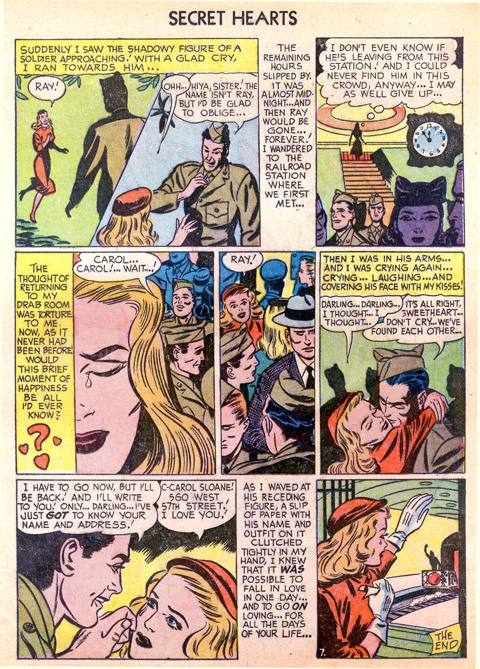 Read online Secret Hearts comic -  Issue #11 - 25