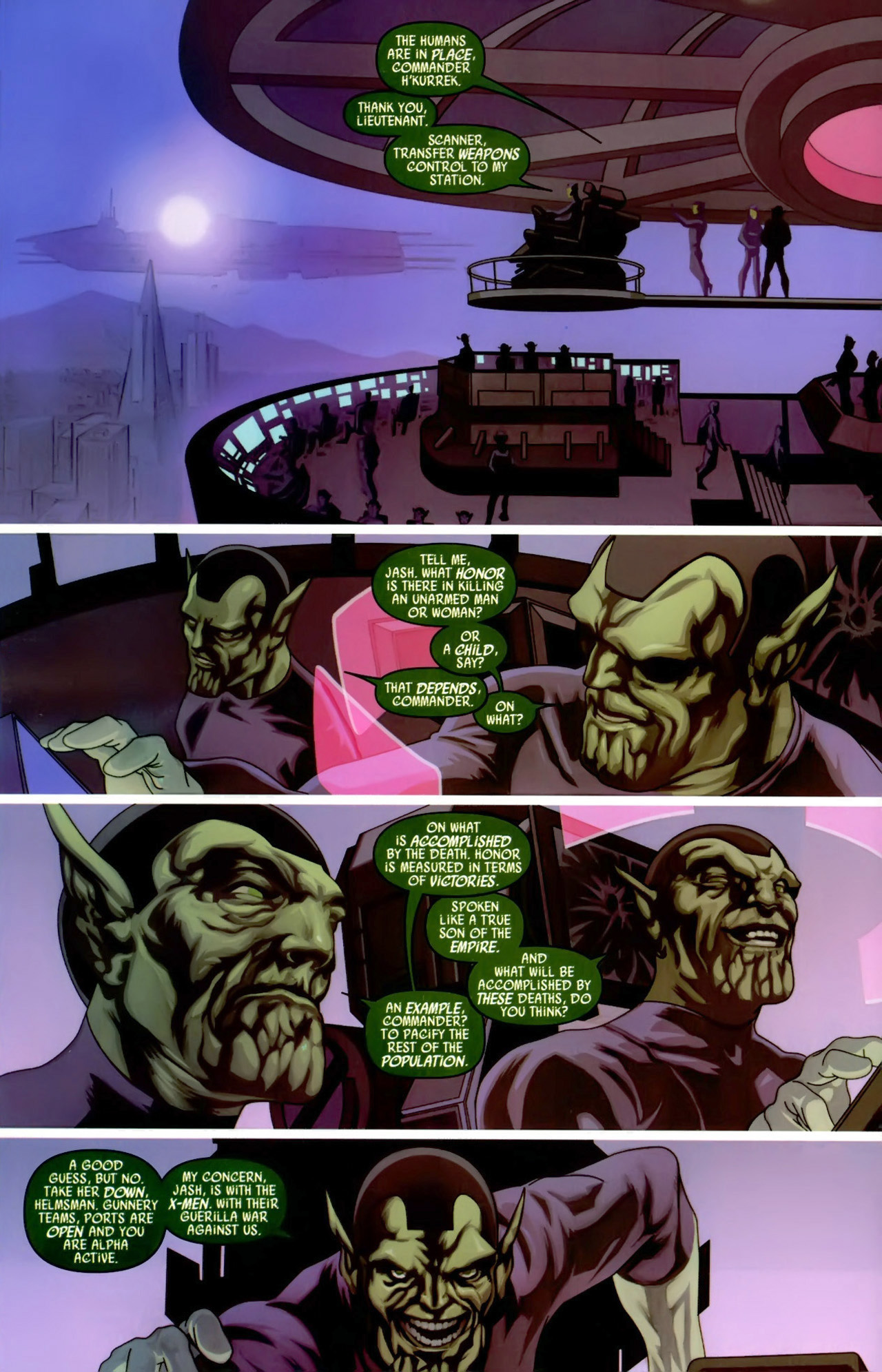 Read online Secret Invasion: X-Men comic -  Issue #3 - 21