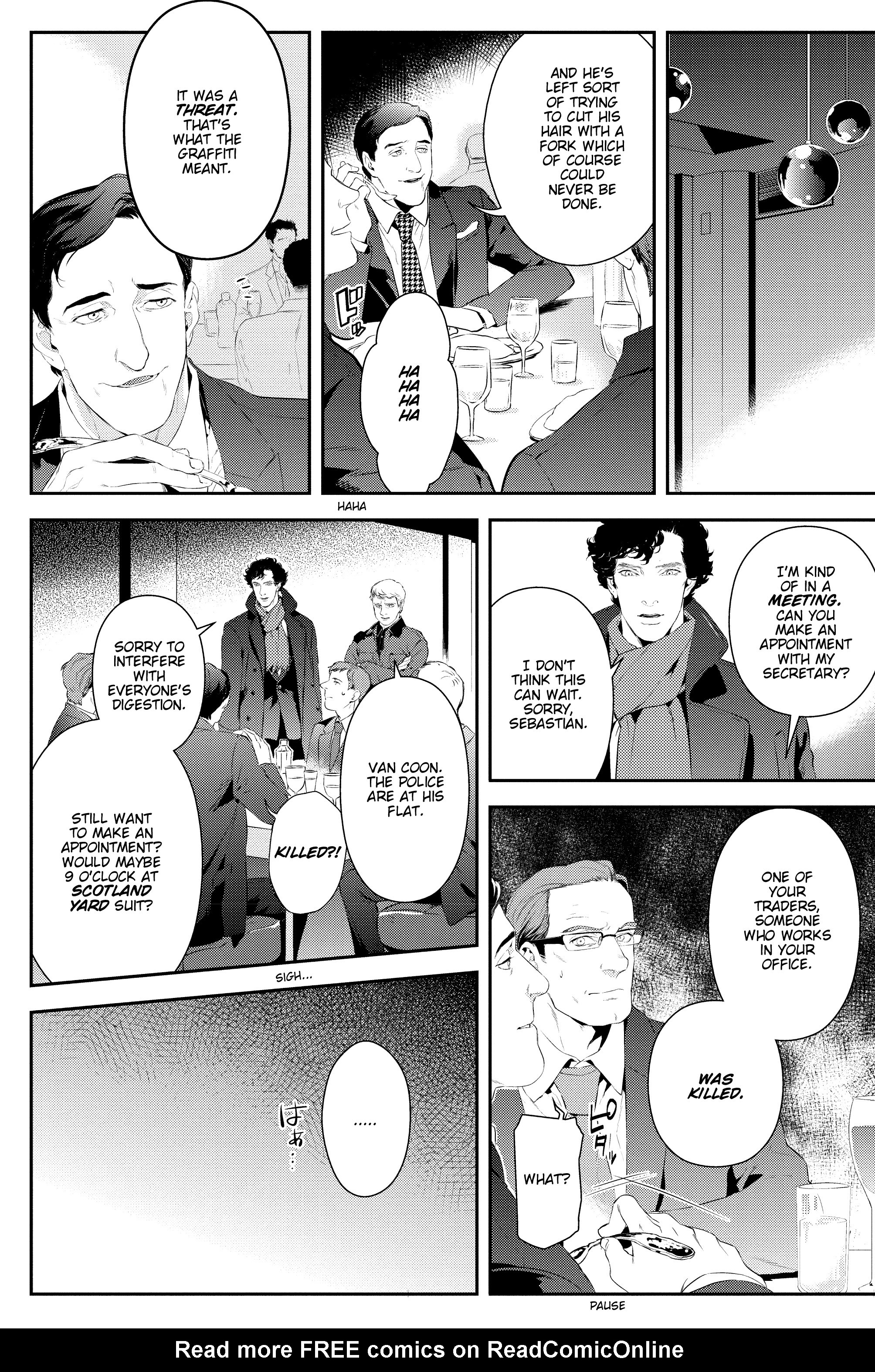 Read online Sherlock: The Blind Banker comic -  Issue #2 - 17