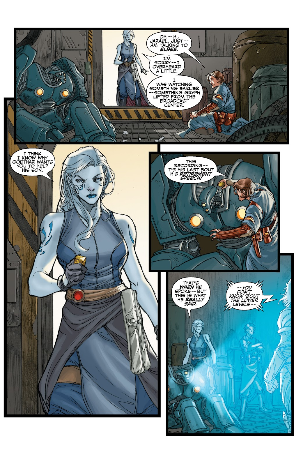 Read online Star Wars Legends: The Old Republic - Epic Collection comic -  Issue # TPB 3 (Part 1) - 66