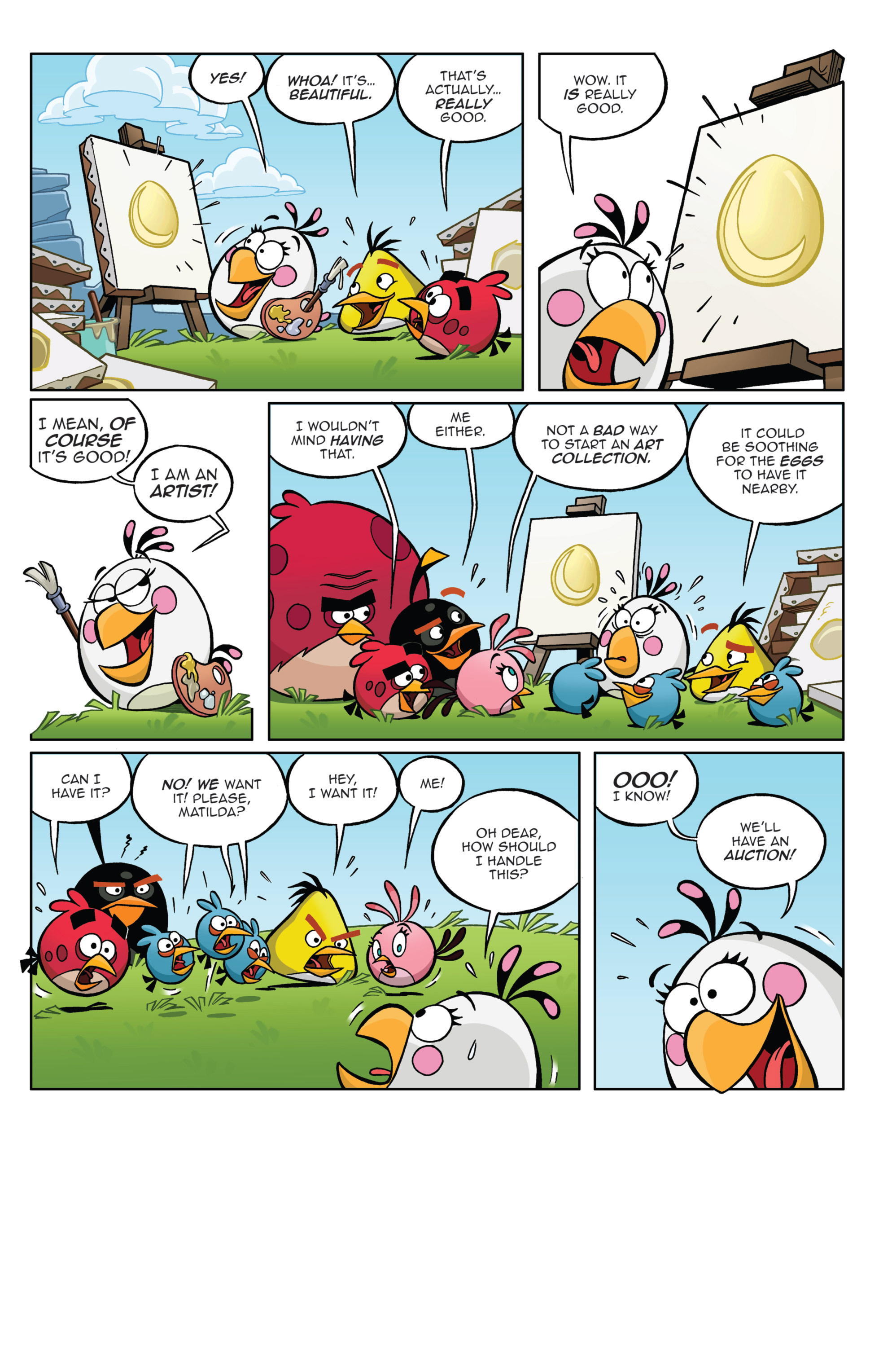 Read online Angry Birds Comics (2014) comic -  Issue #4 - 14
