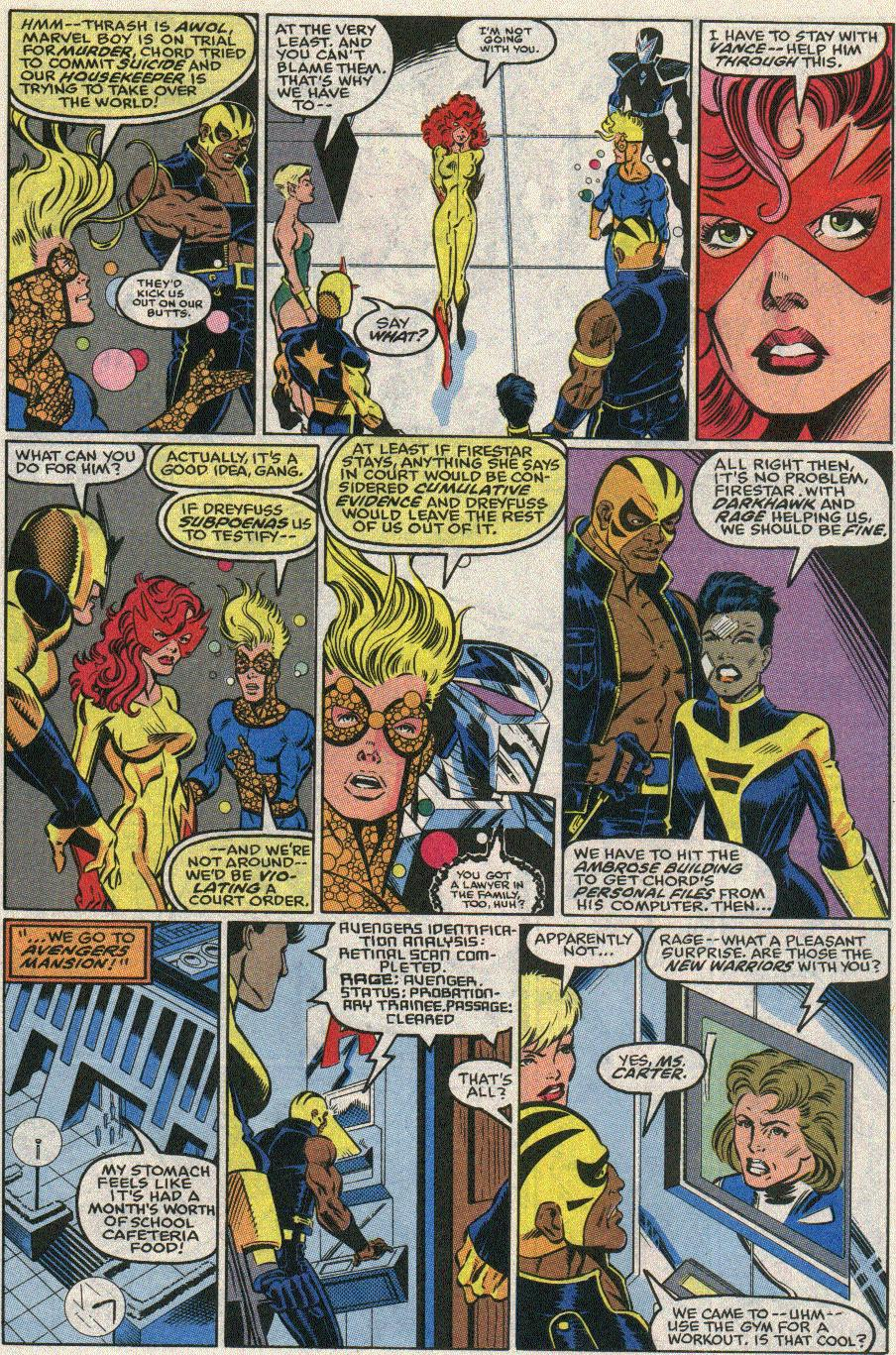 The New Warriors Issue #22 #26 - English 16