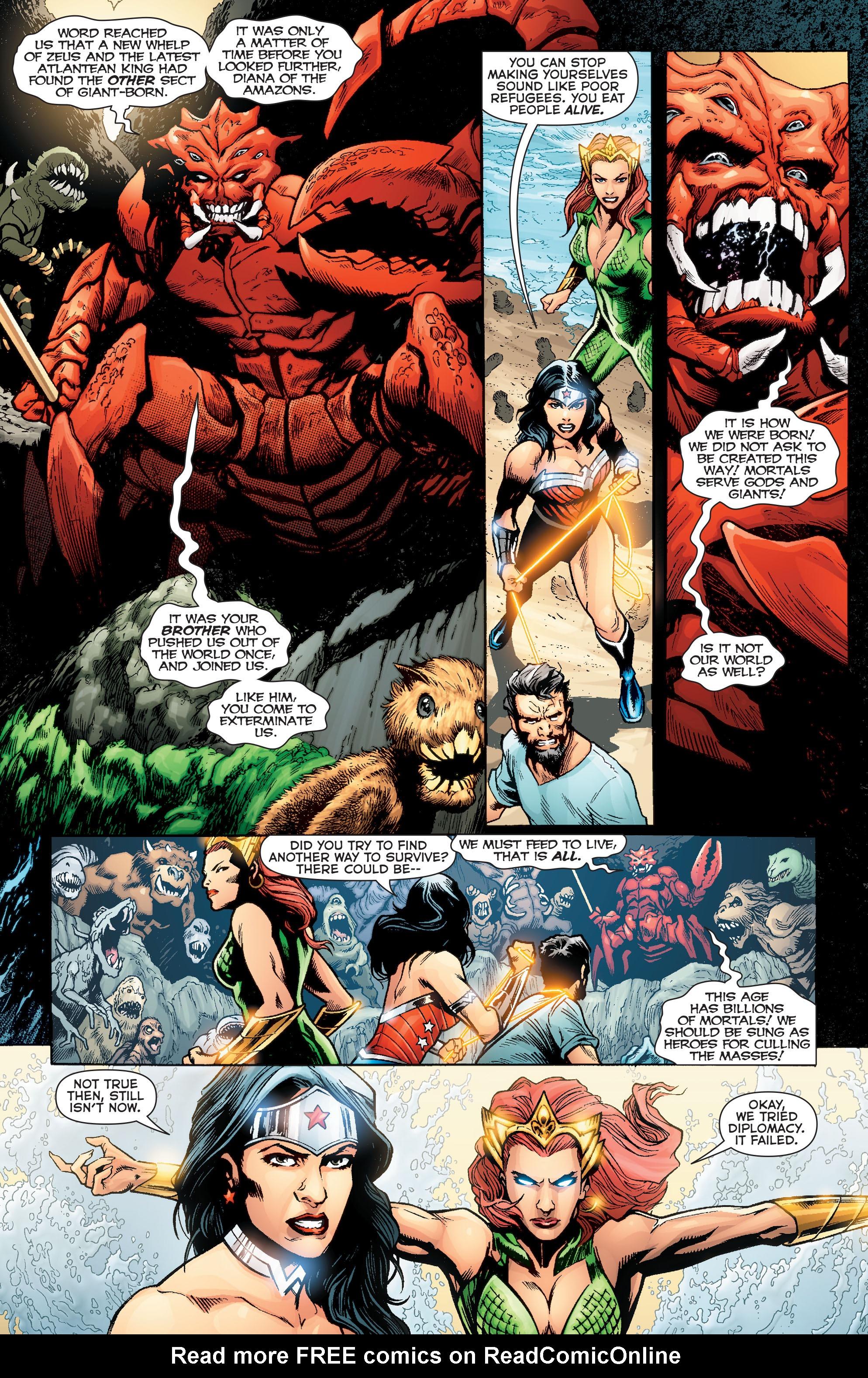 Read online Aquaman (2011) comic -  Issue #Aquaman (2011) _Annual 2 - 33