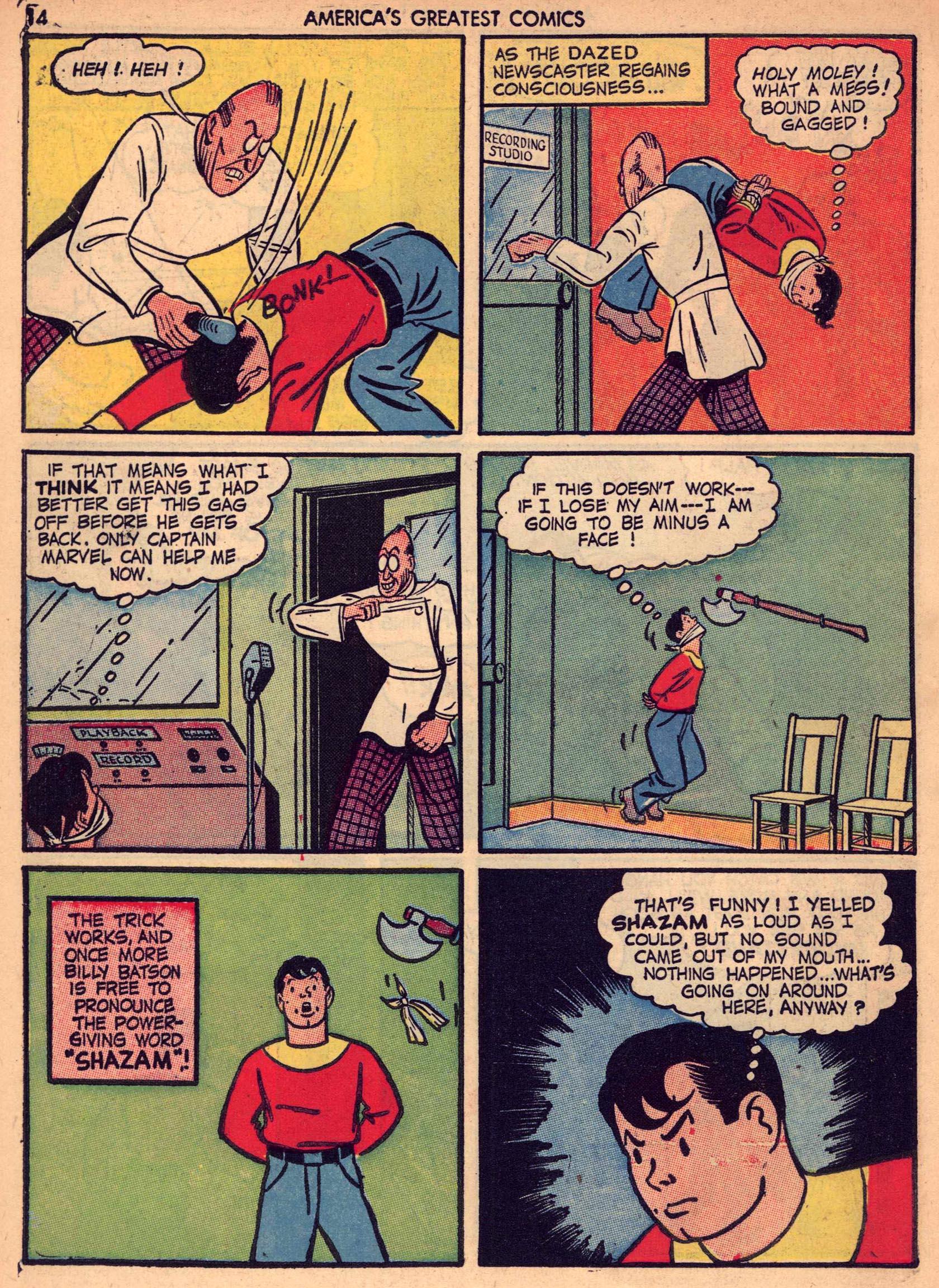 Read online America's Greatest Comics comic -  Issue #7 - 13