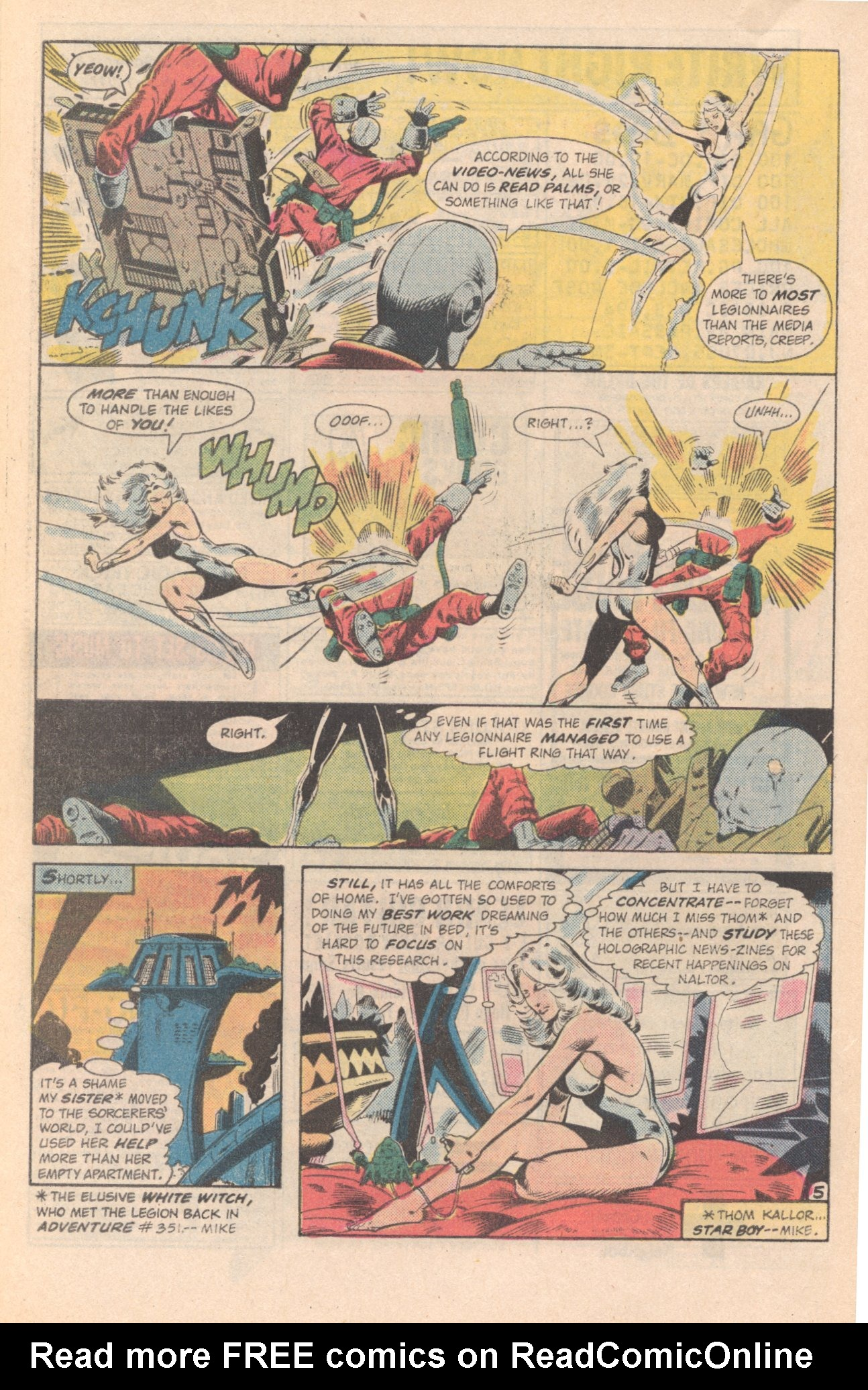 Legion of Super-Heroes (1980) 285 Page 24