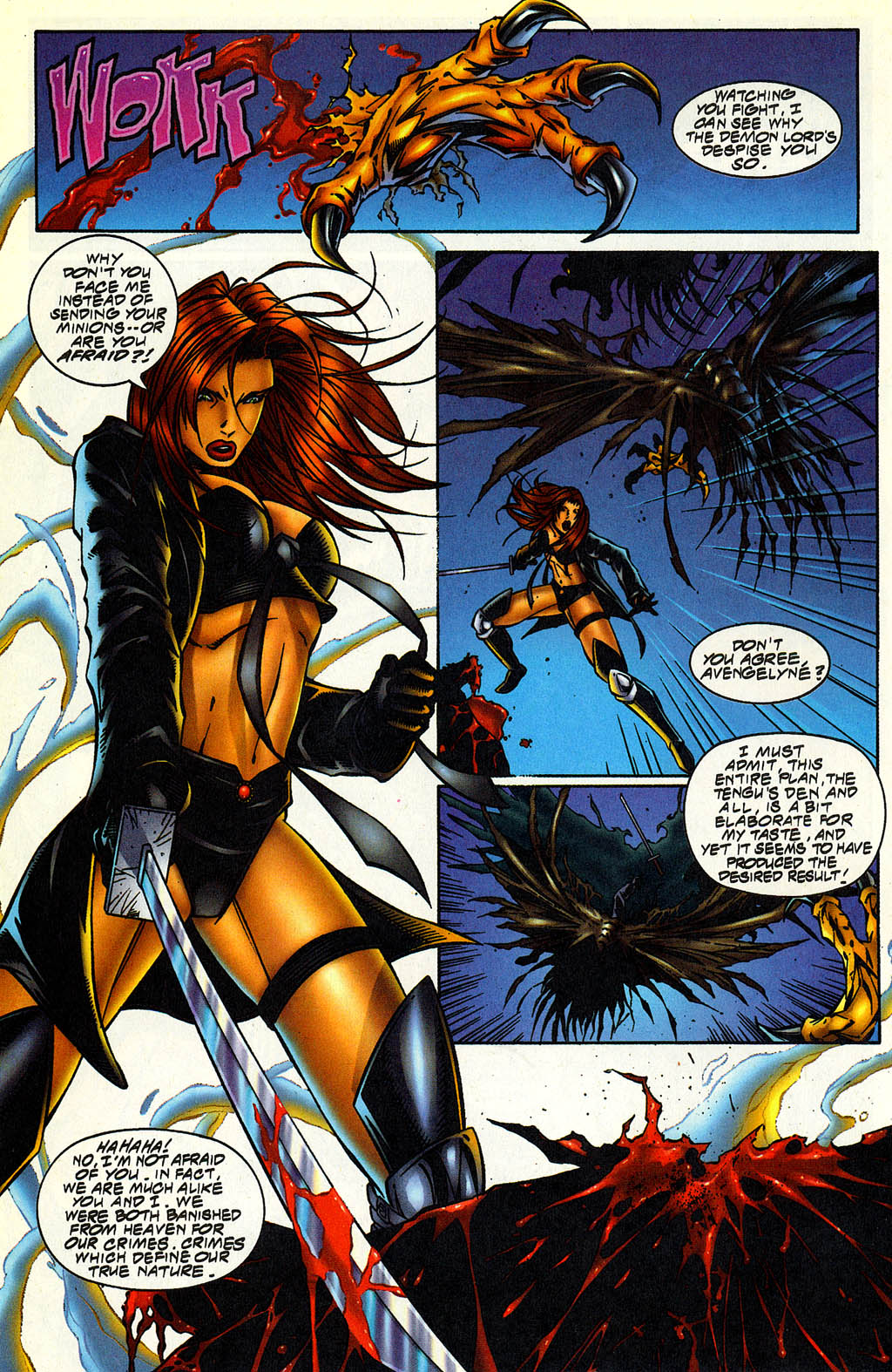 Read online Avengelyne (1996) comic -  Issue #5 - 15