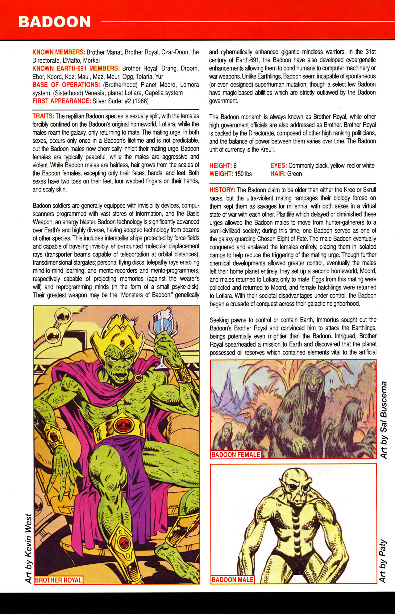 Read online All-New Official Handbook of the Marvel Universe A to Z: Update comic -  Issue #1 - 6