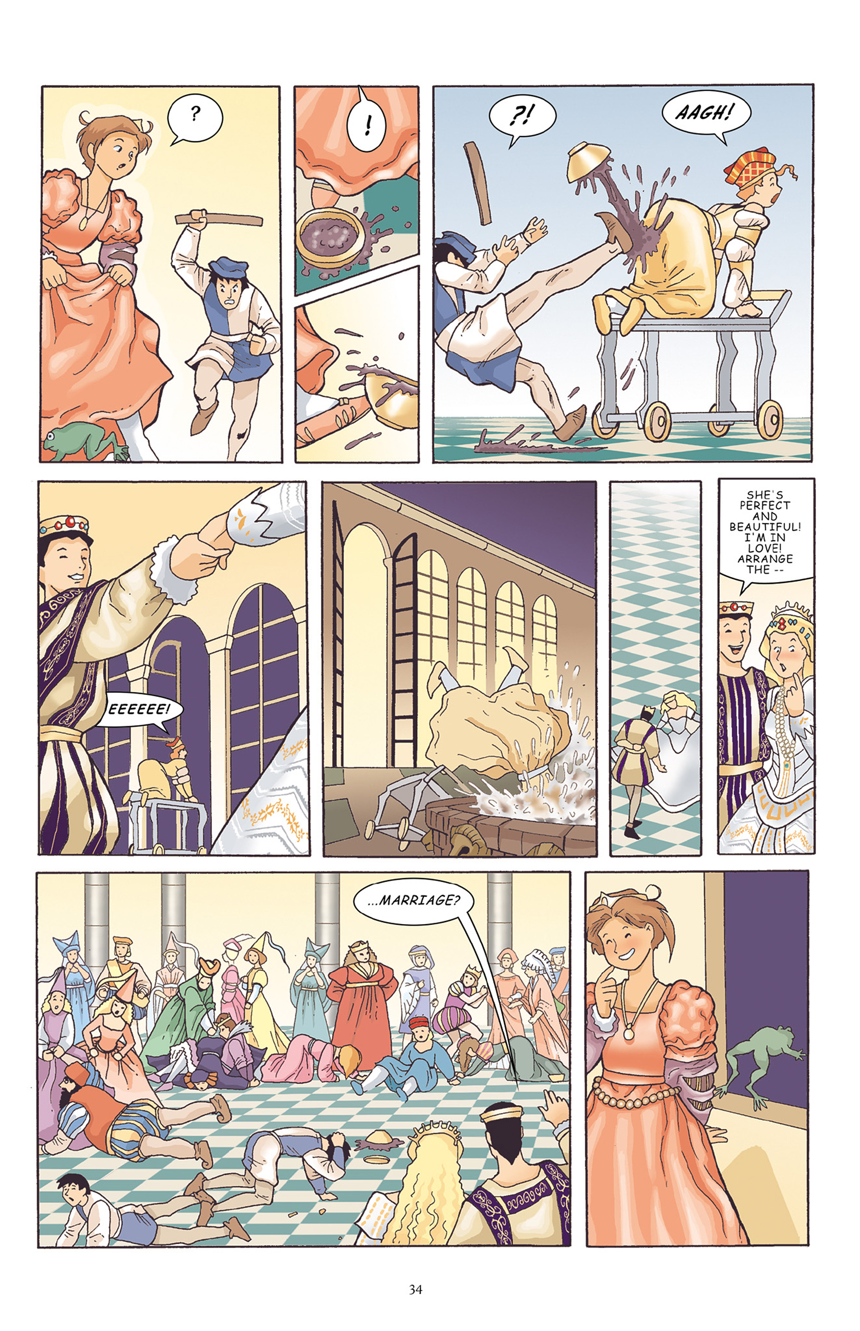 Read online Courageous Princess comic -  Issue # TPB 1 - 35