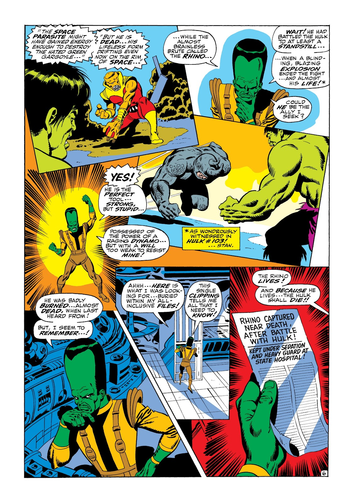 Read online Marvel Masterworks: The Incredible Hulk comic -  Issue # TPB 6 (Part 1) - 57
