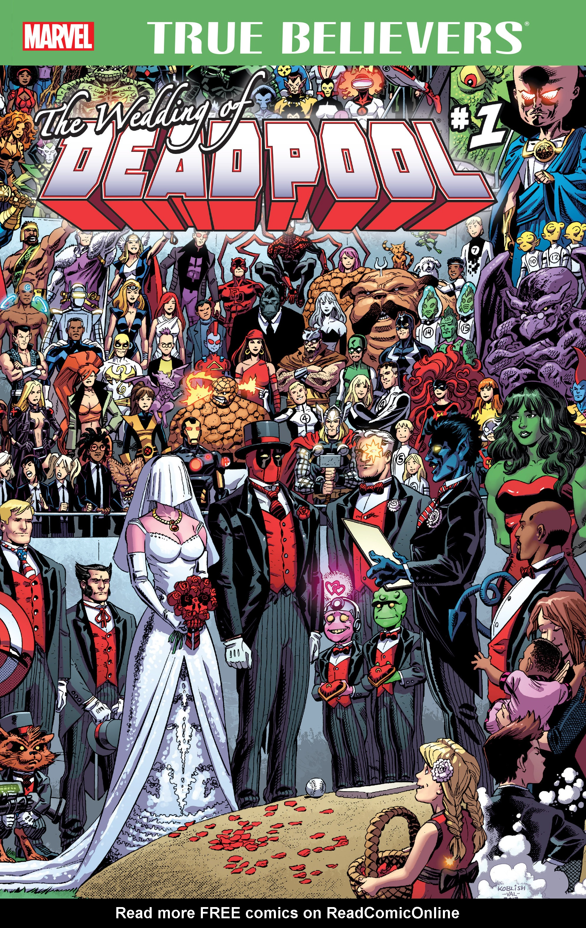Read online True Believers: The Wedding of Deadpool comic -  Issue # Full - 1