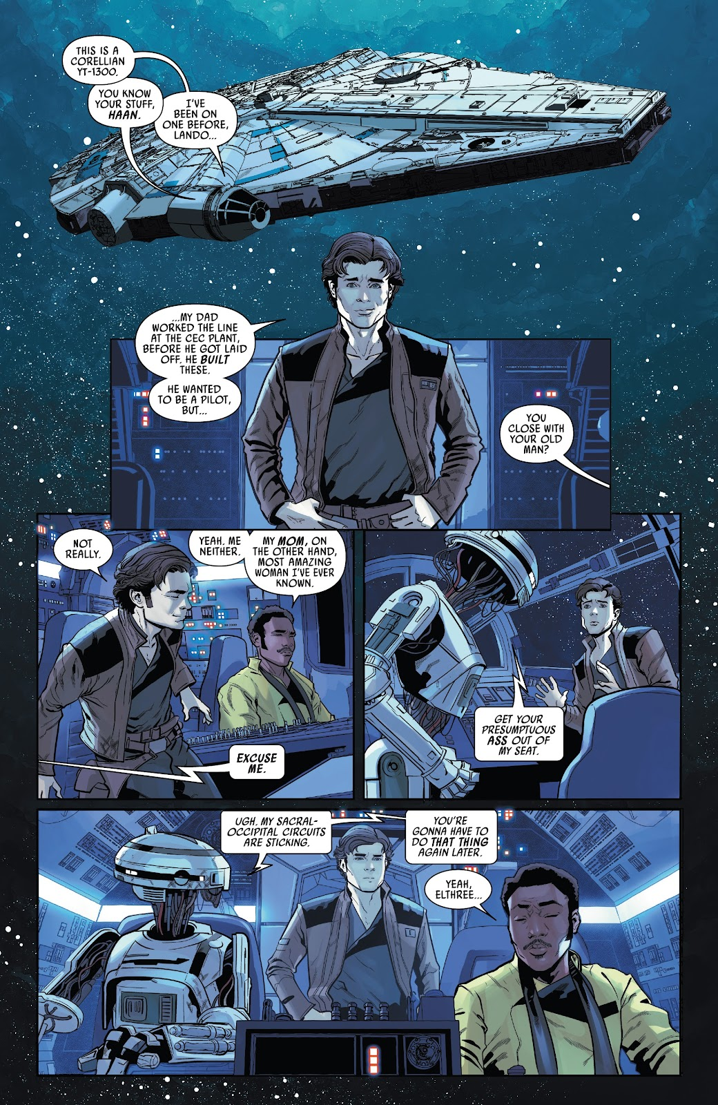 Read online Solo: A Star Wars Story Adaptation comic -  Issue #4 - 3