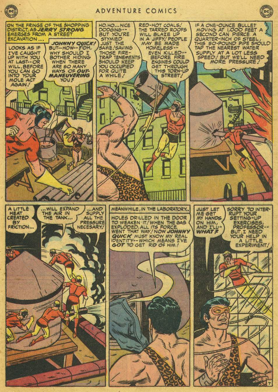 Read online Adventure Comics (1938) comic -  Issue #164 - 23