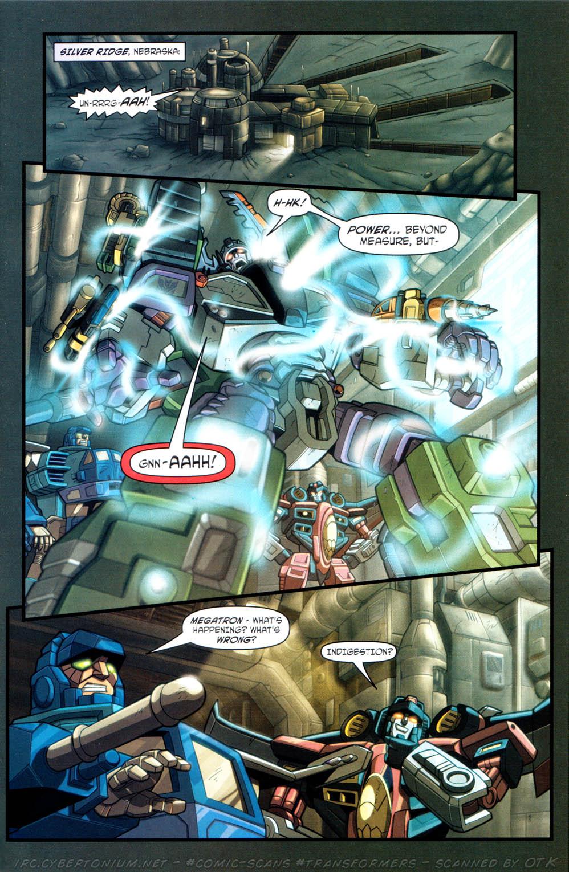 Read online Transformers Armada comic -  Issue #12 - 9
