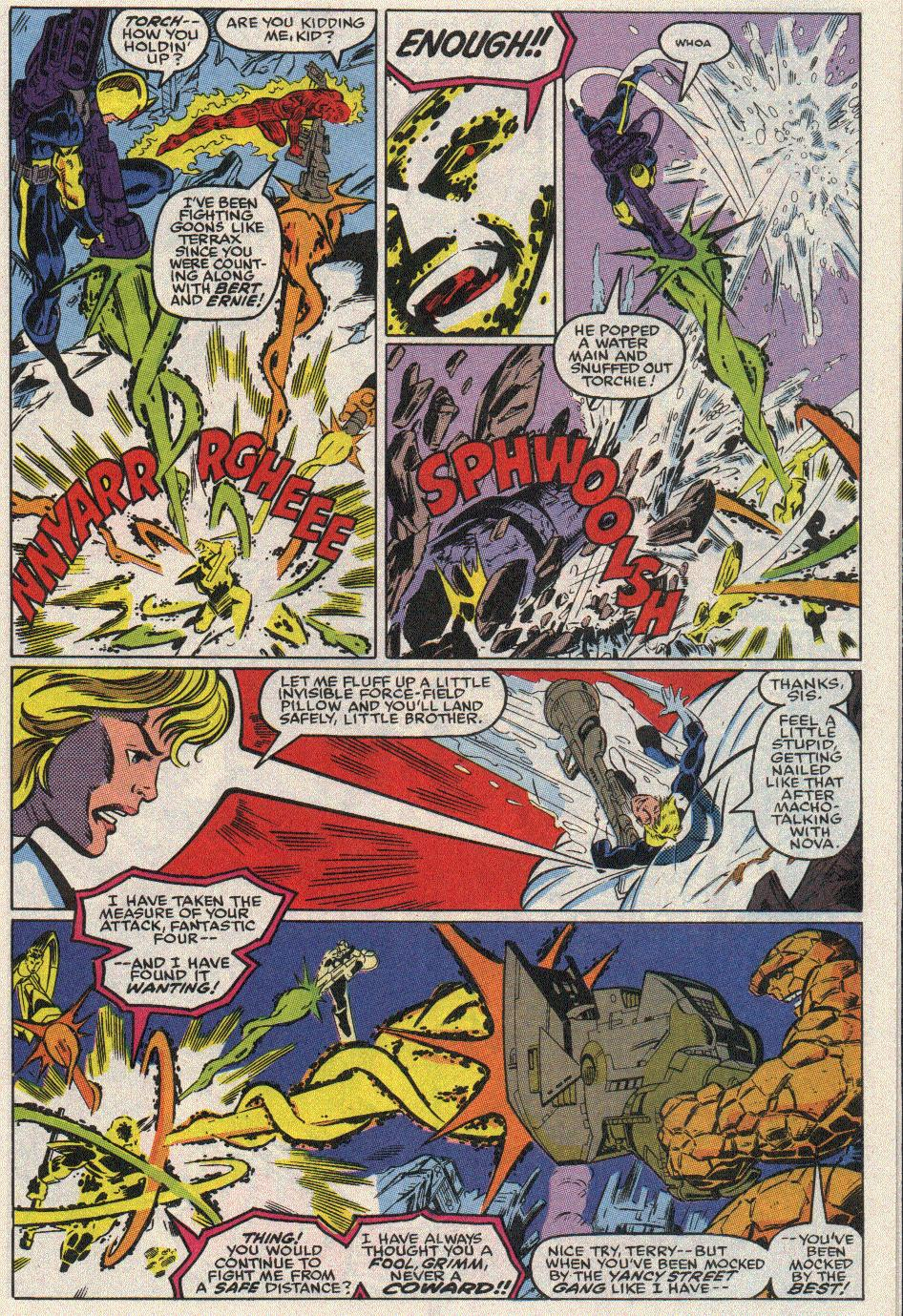 The New Warriors Issue #17 #21 - English 7