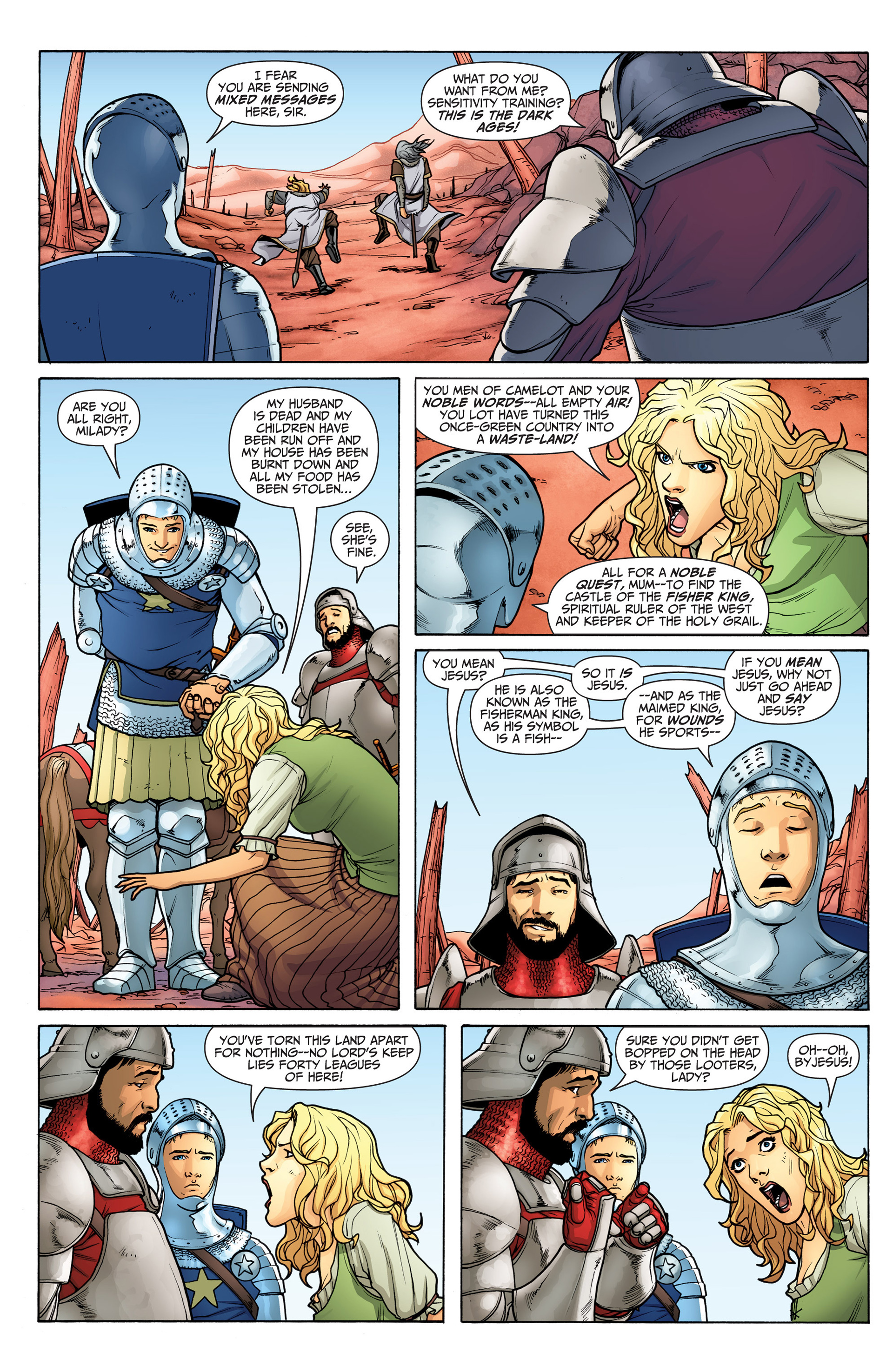 Read online Archer and Armstrong comic -  Issue #22 - 6