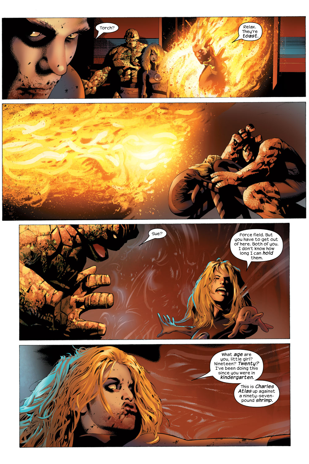 Read online Ultimate Fantastic Four (2004) comic -  Issue #23 - 3