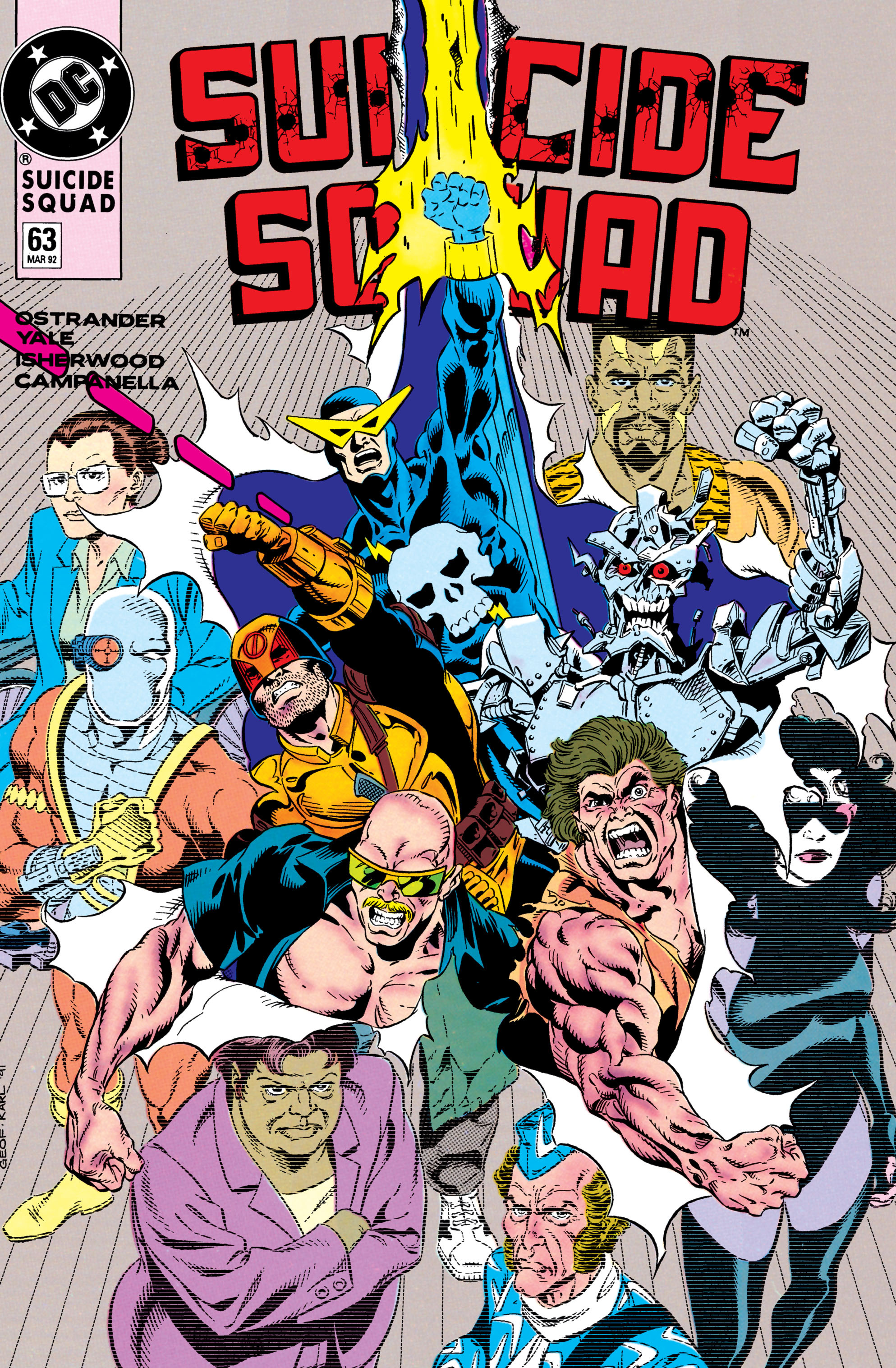 Suicide Squad (1987) issue 63 - Page 1