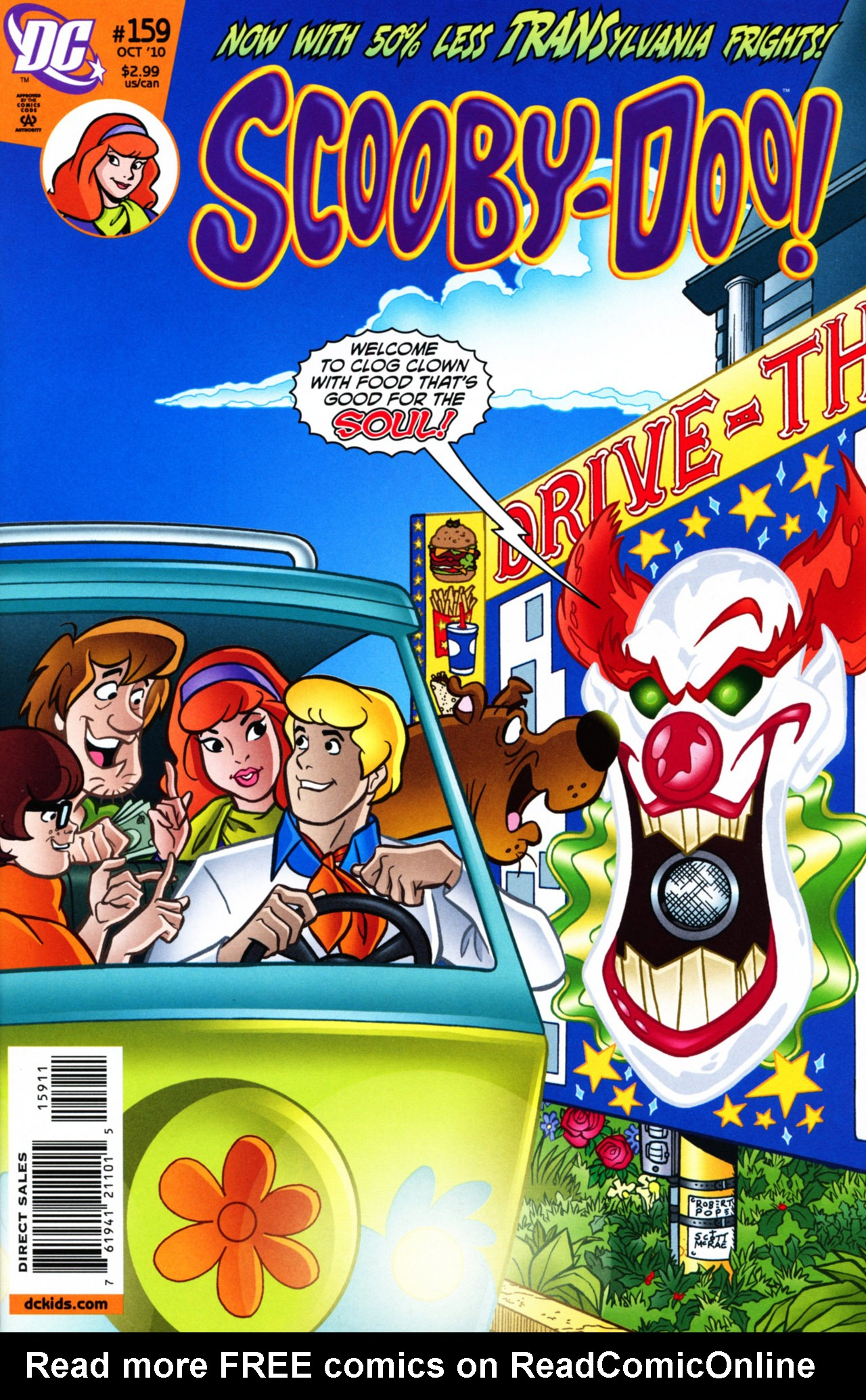 Read online Scooby-Doo (1997) comic -  Issue #159 - 1