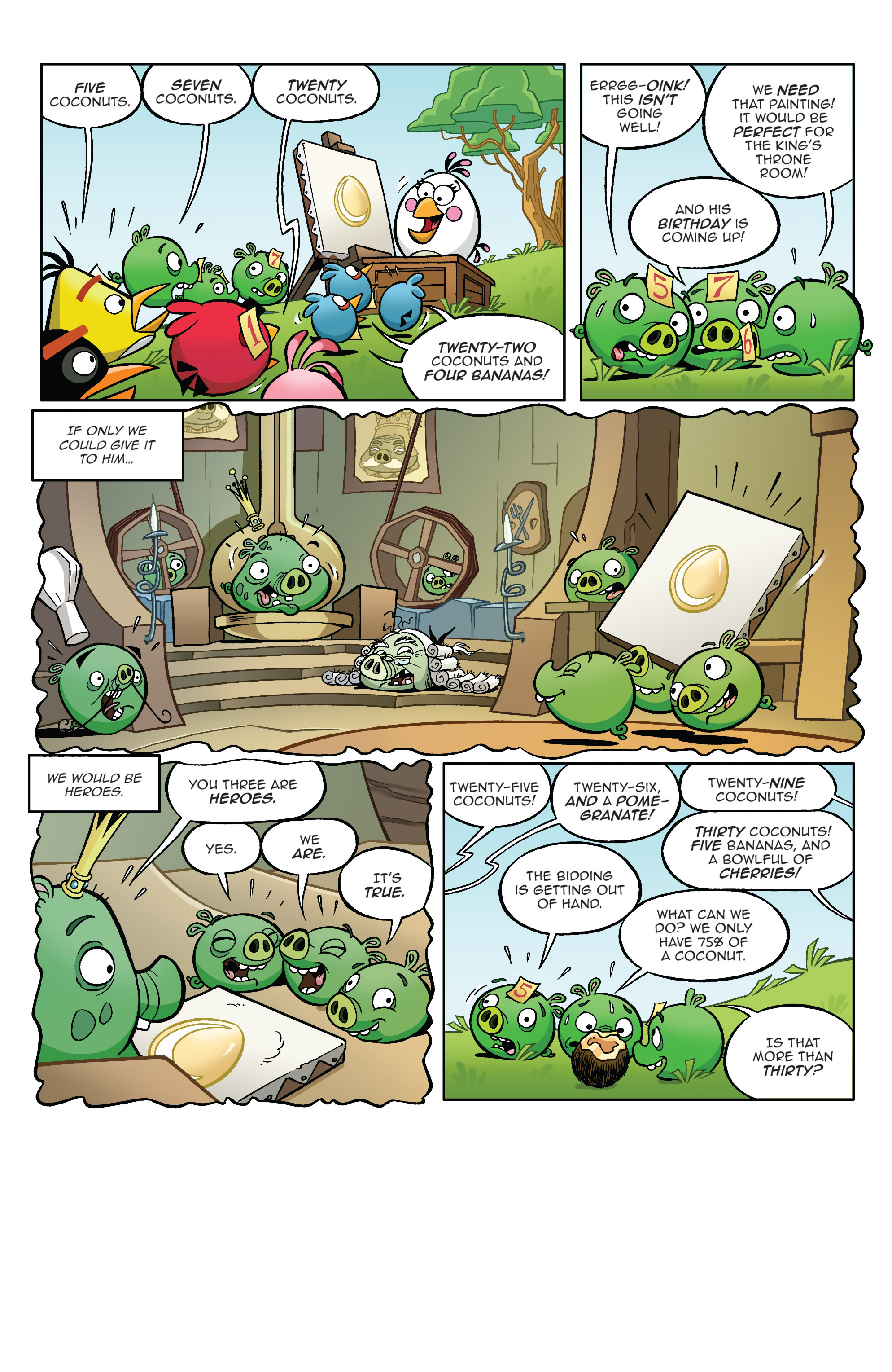 Read online Angry Birds Comics (2014) comic -  Issue #4 - 17