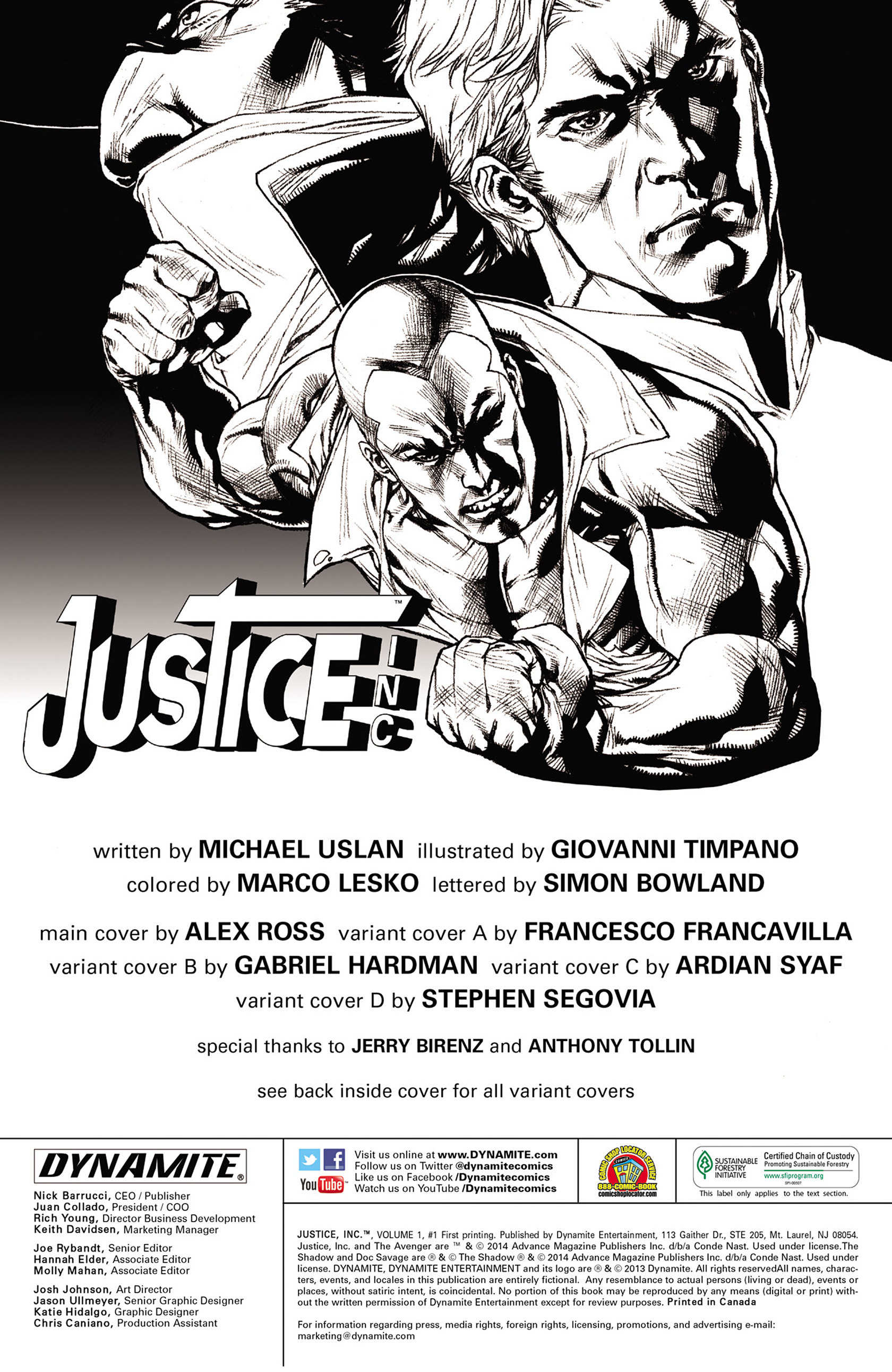 Read online Justice, Inc. comic -  Issue #1 - 6